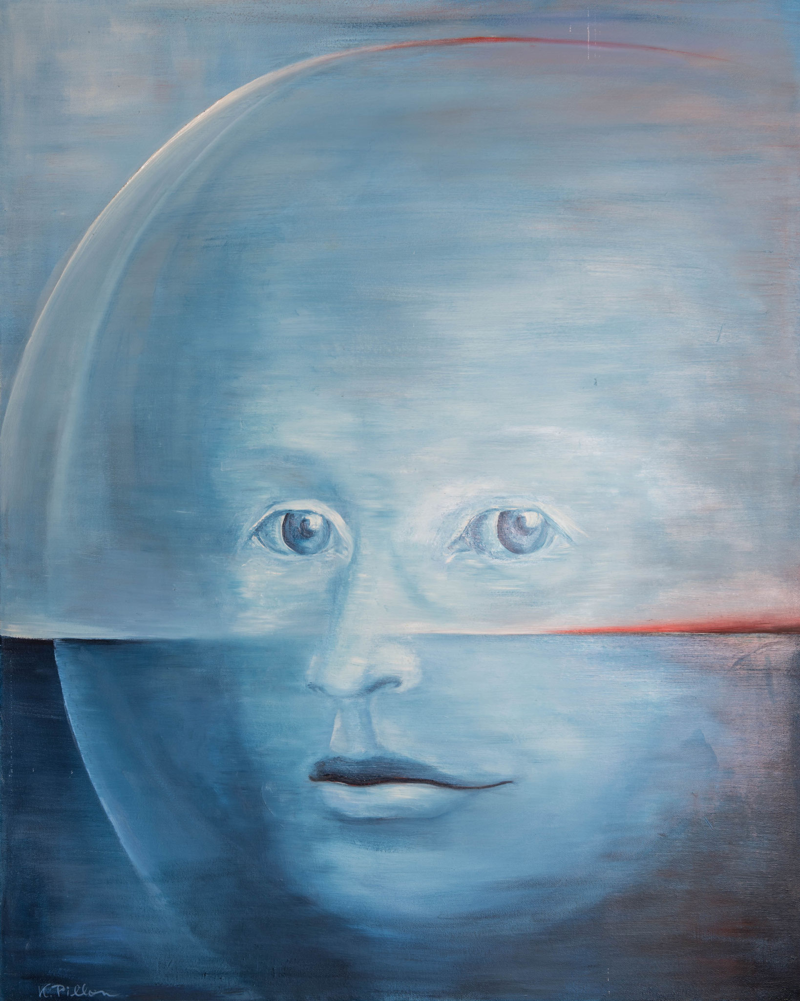»Vision«  Öl/Leinwand  80 x 100 cm / € 2900
