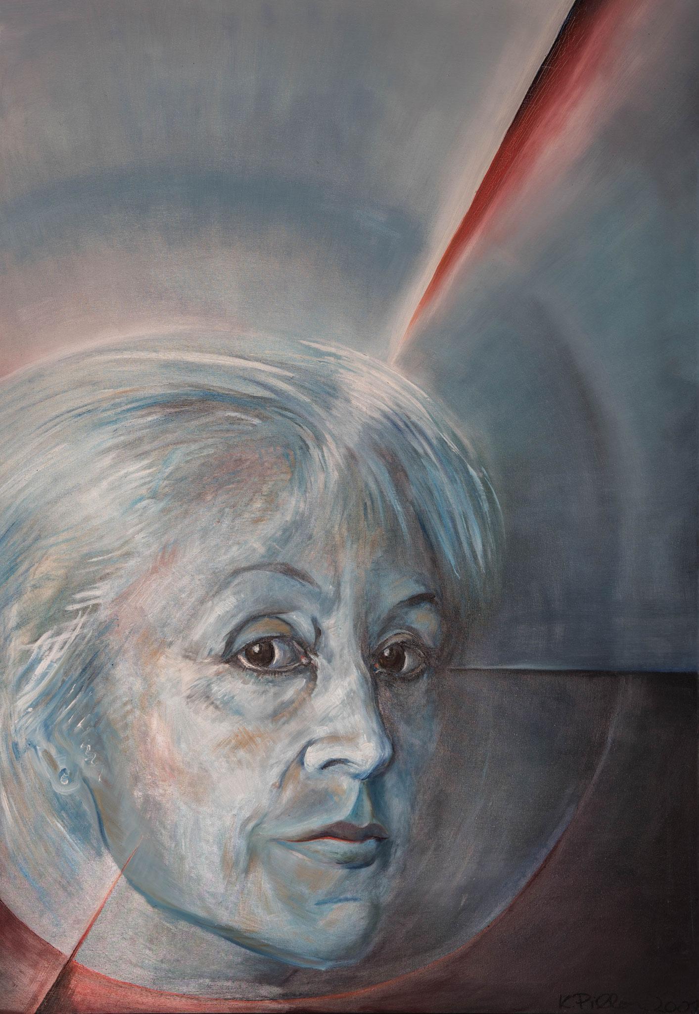 »Selbstportrait« Öl auf Leinwand 140 x 100 cm