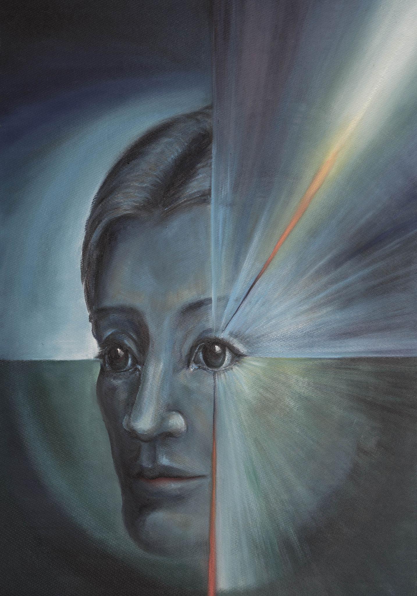 »Jeanne«  Öl/Patte  70 x 100 cm