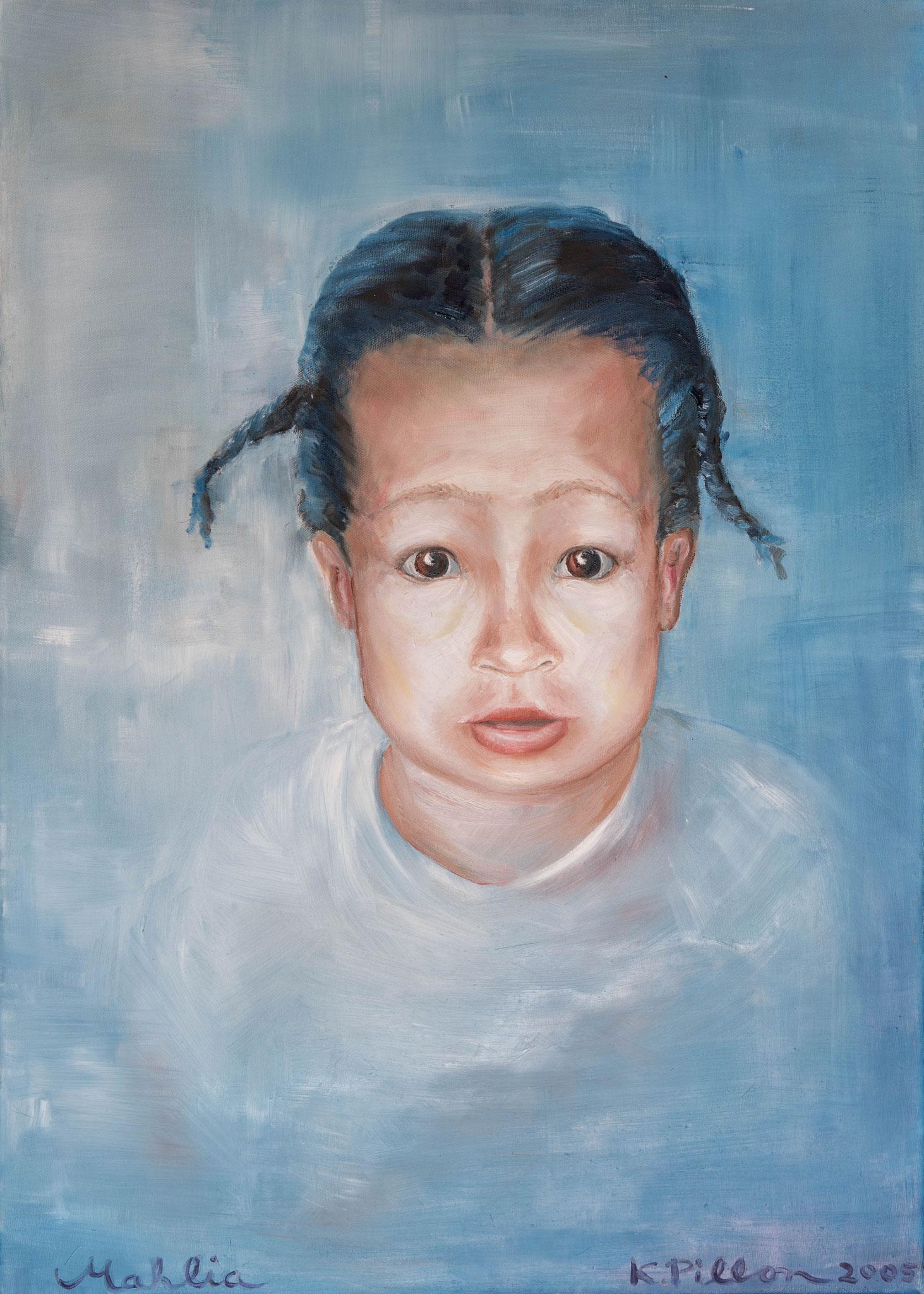 »Mahlia«  Öl/Leinwand  50 x 70 cm