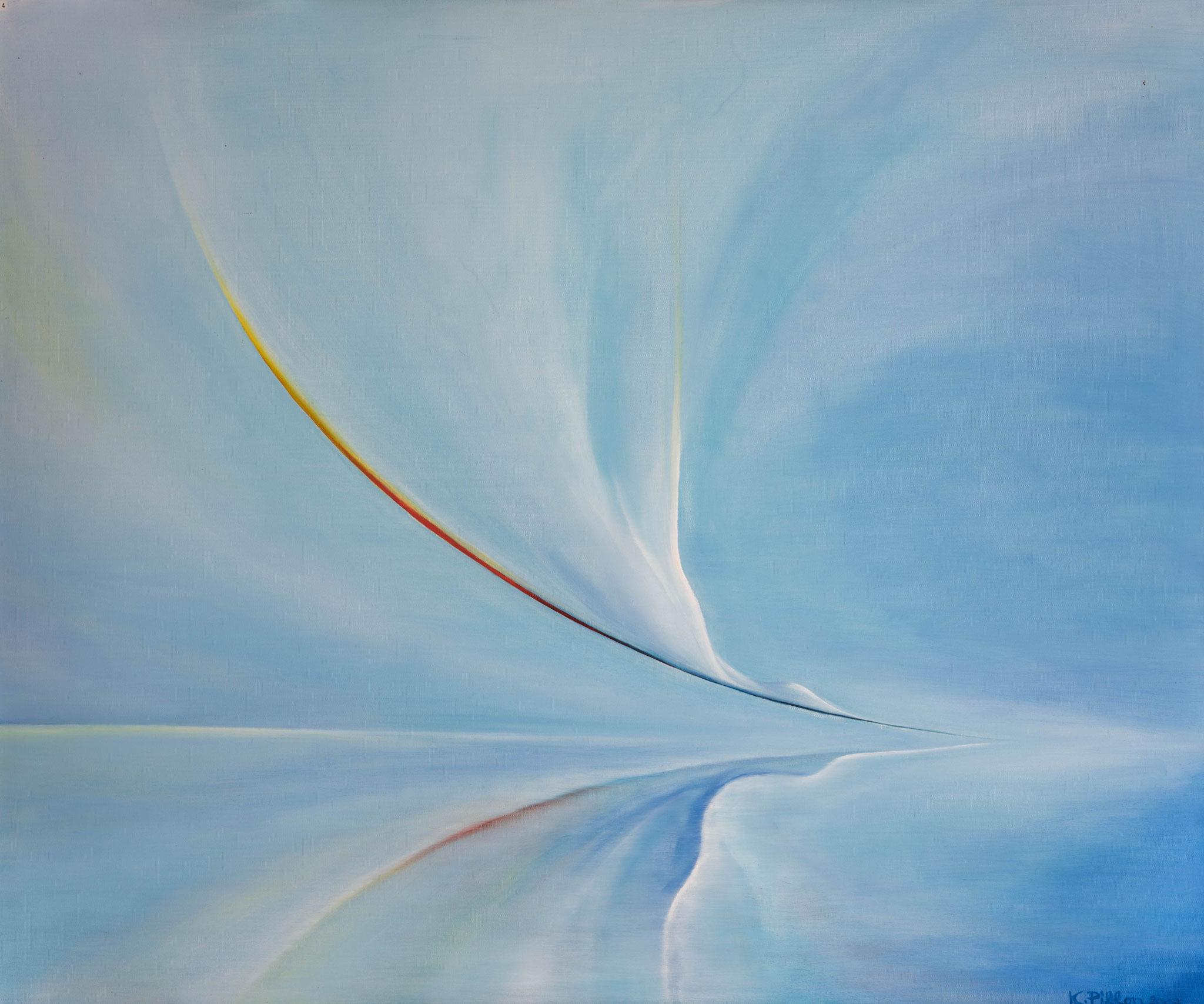 »Kuss«  Öl/Leinwand  120 x 100 cm / € 3200