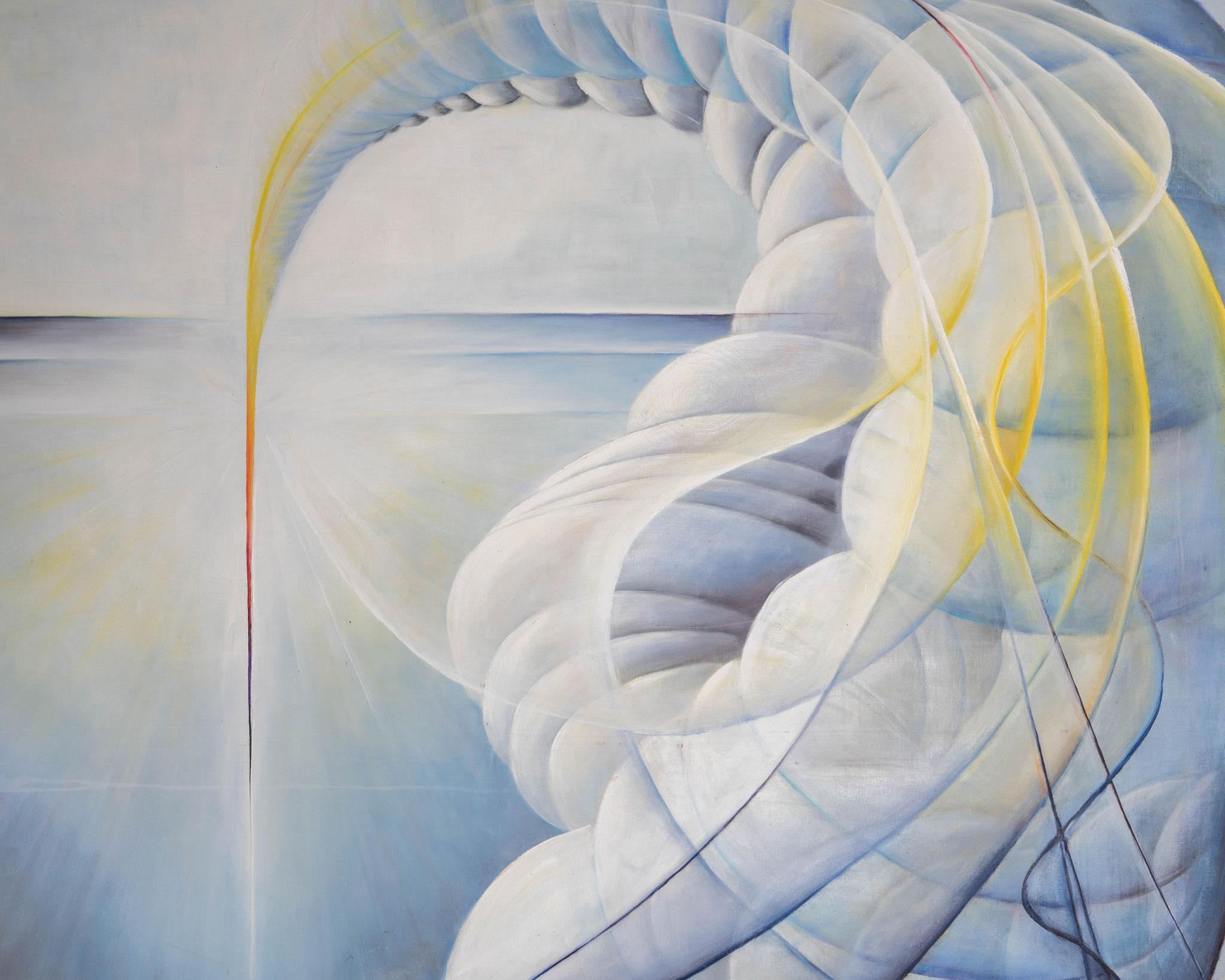 »Chaos«  Öl/Leinwand 150 x 120 cm  € 4000