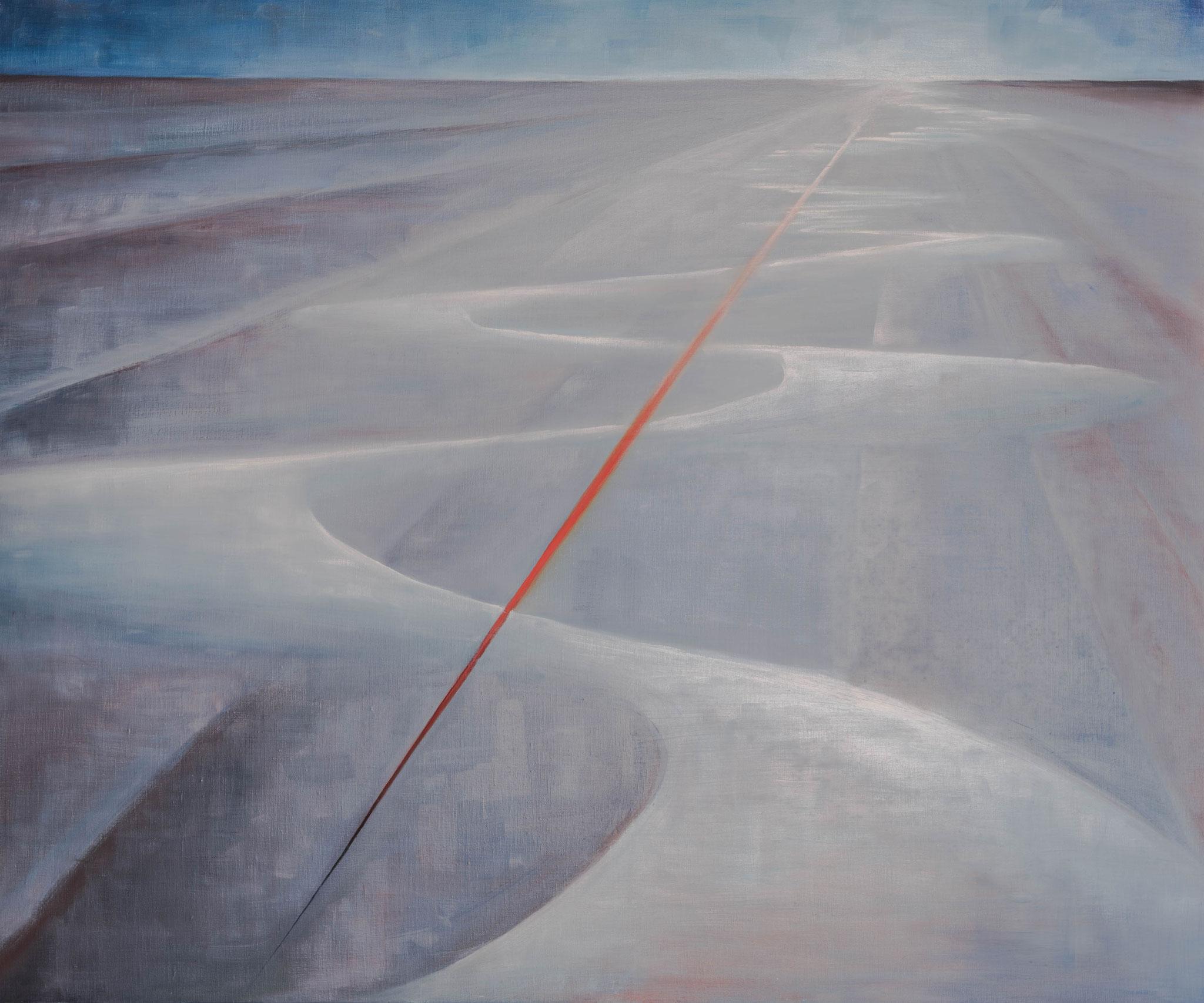 »Mäander«  Öl/Leinwand  120 x 100 cm / € 3500