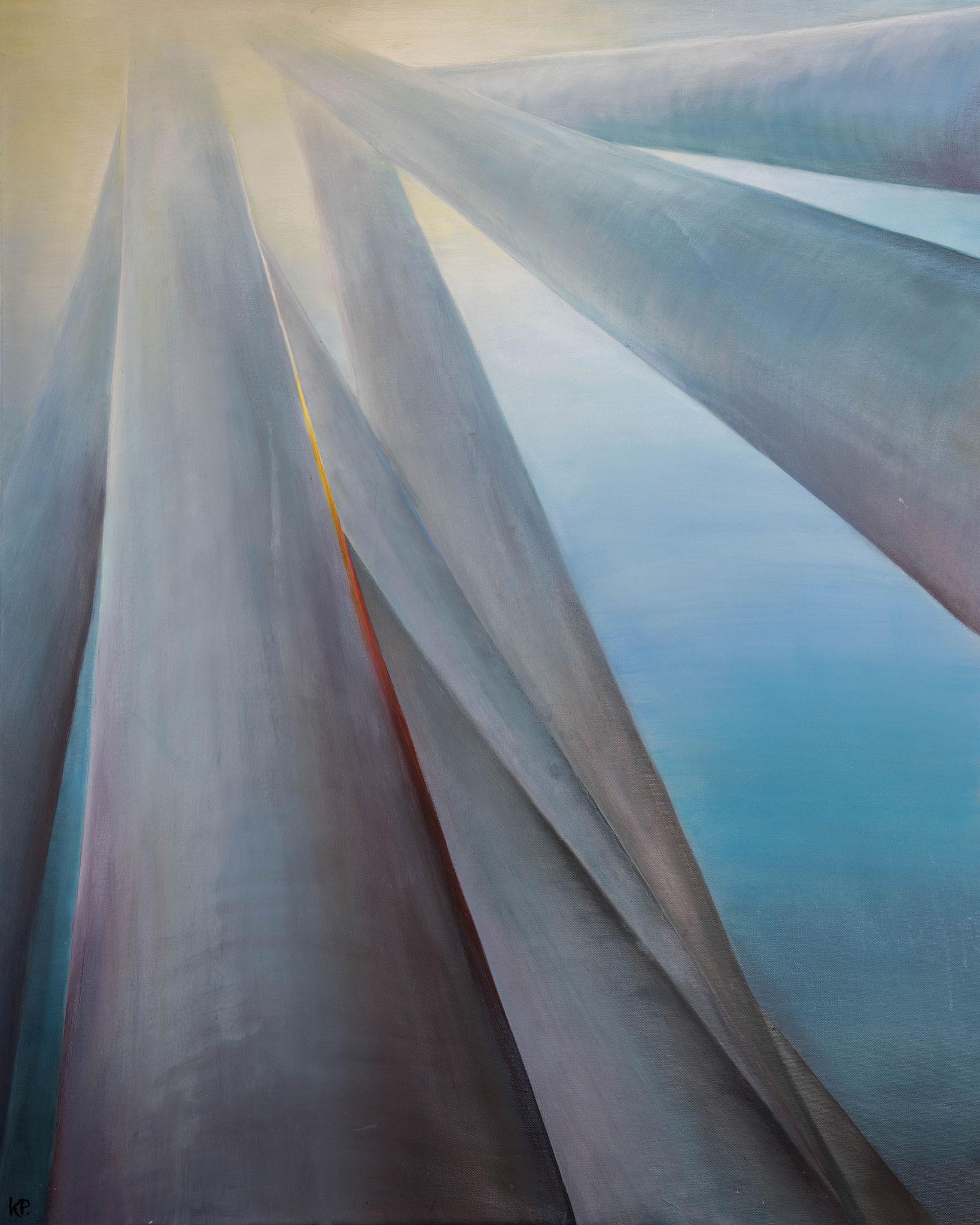 »Phototropismus«  Öl/Leinwand  80 x 100 cm / € 3200