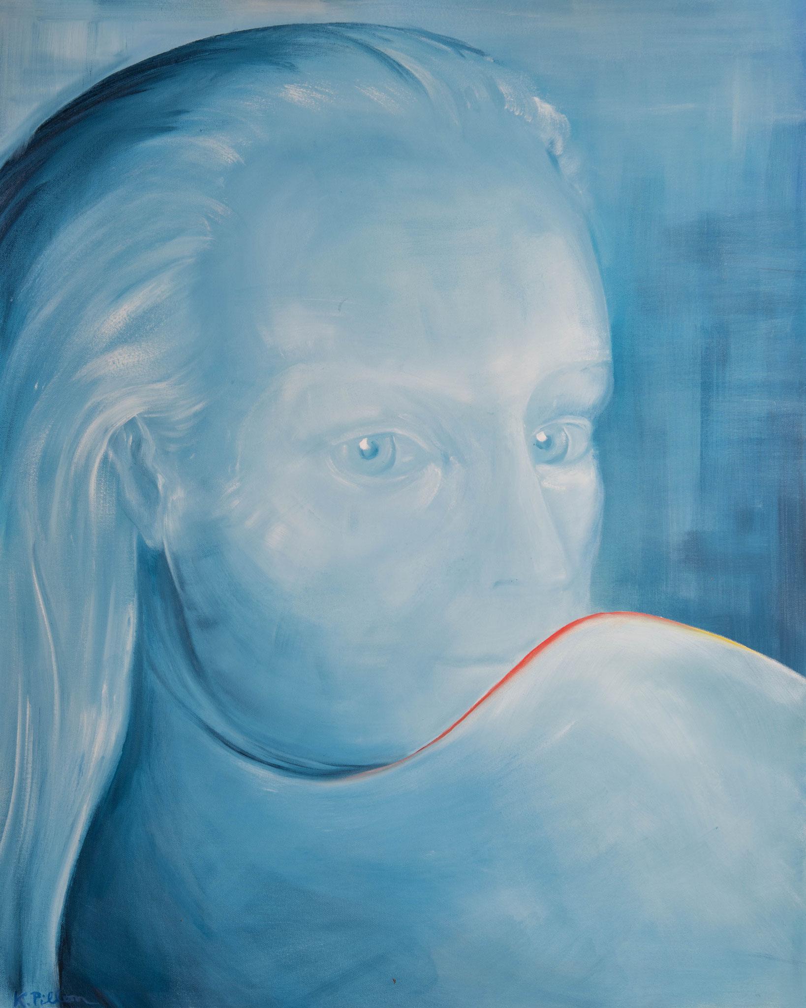 »Muse«  Öl/Leinwand  80 x 100 cm / € 2900