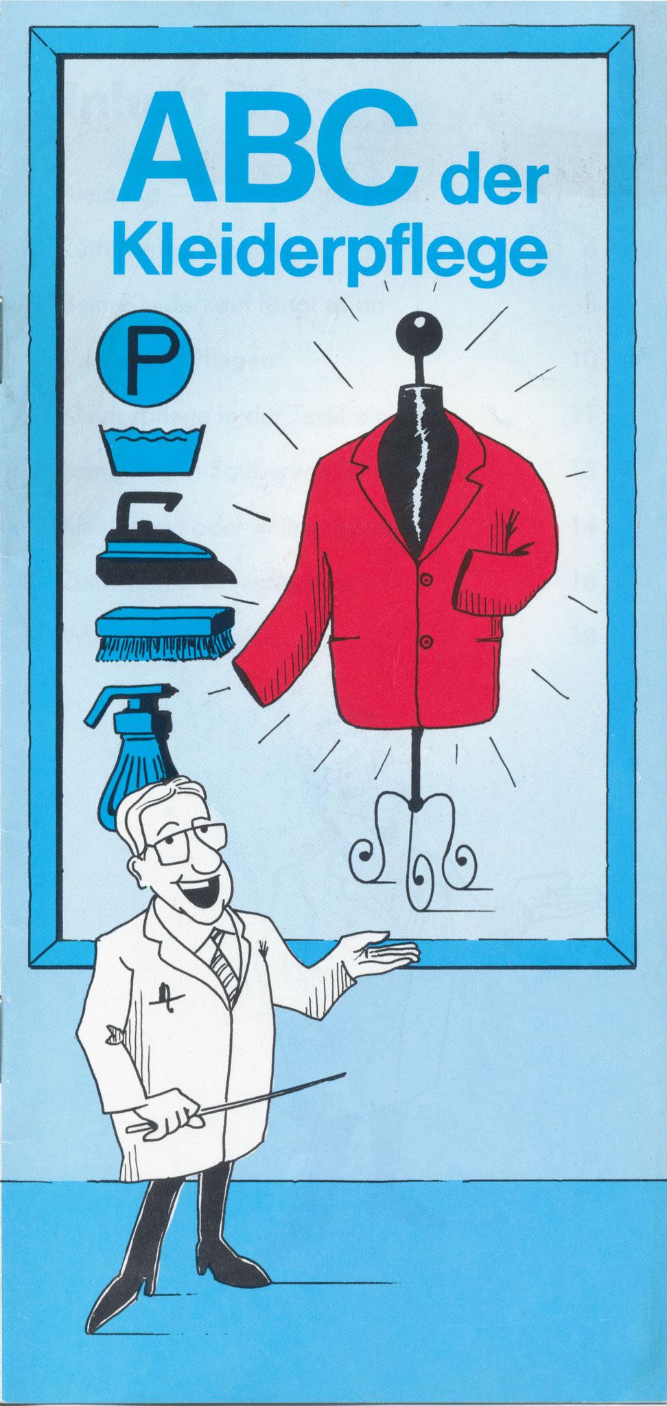 1980 Müden Arbeitskreis Textilreinigung: Seite 1,  ABC Kleiderpflege