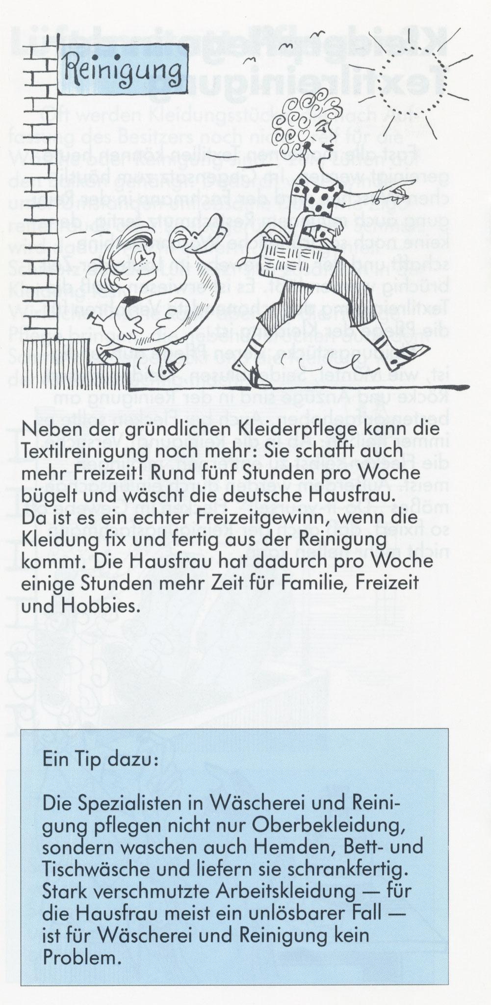 1980 Müden Arbeitskreis Textilreinigung:  Seite 8, Freizeit
