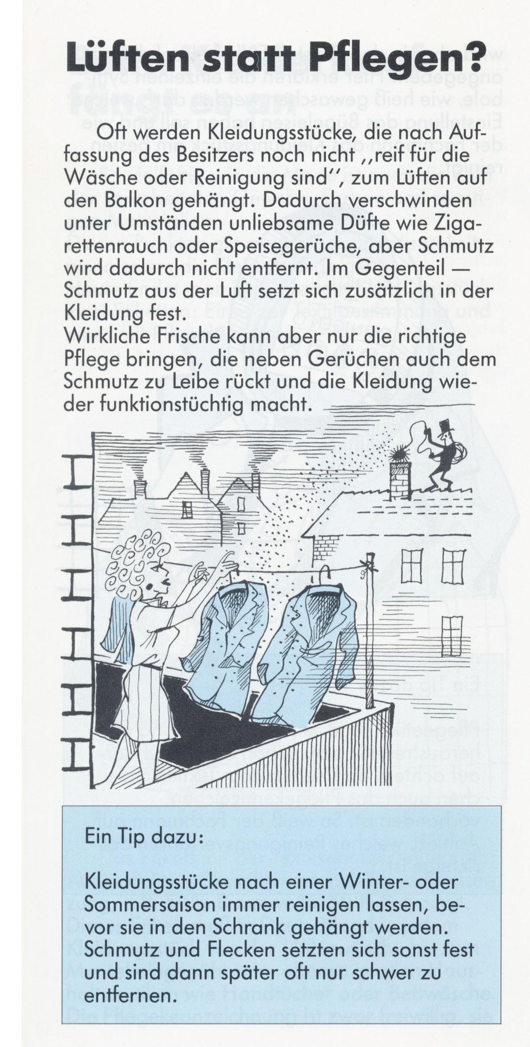 1980 Müden Arbeitskreis Textilreinigung:  Seite 5, Lüften