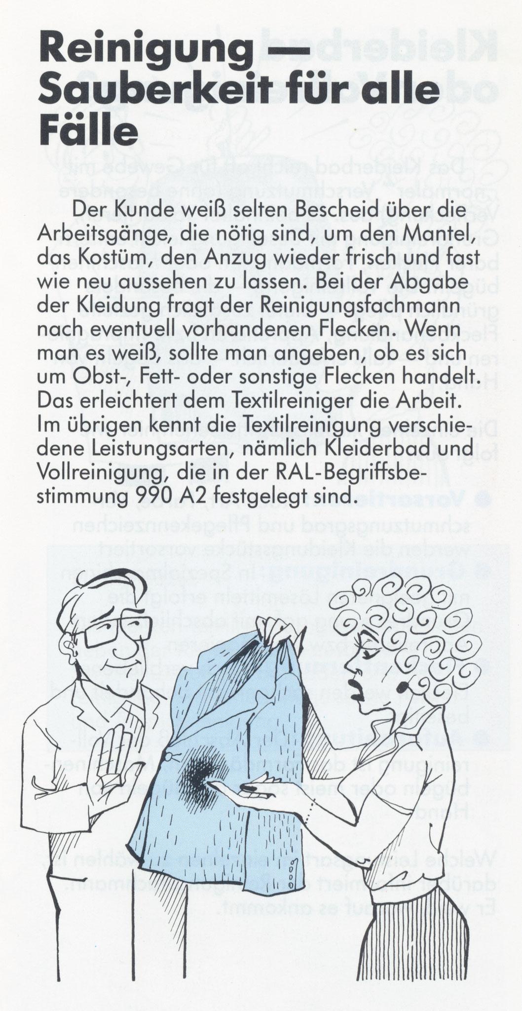 1980 Müden Arbeitskreis Textilreinigung:  Seite 7, Für alle Fälle