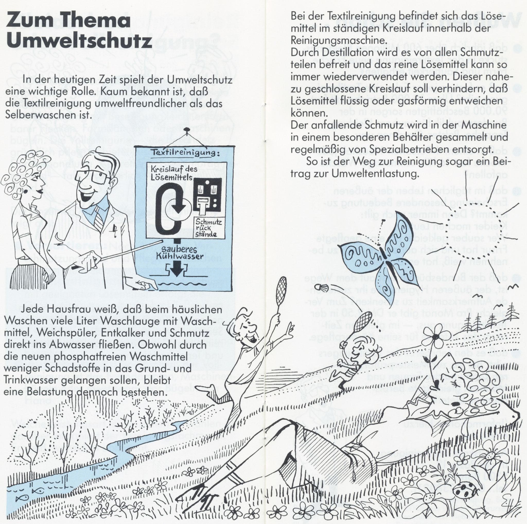 1980 Müden Arbeitskreis Textilreinigung:  Seite 10, Thema Umweltschutz