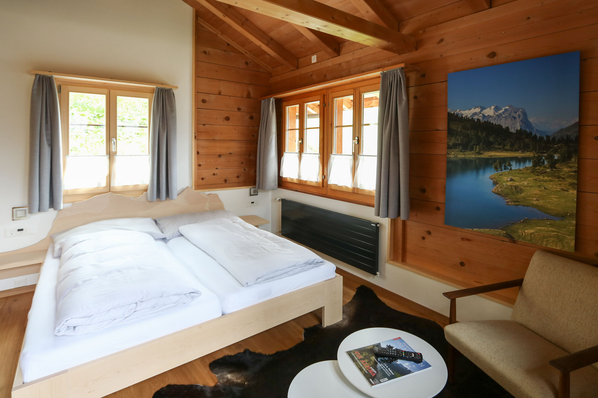 "Most-wanted: Charming chalet-style double superior ""Weschhüüs"""