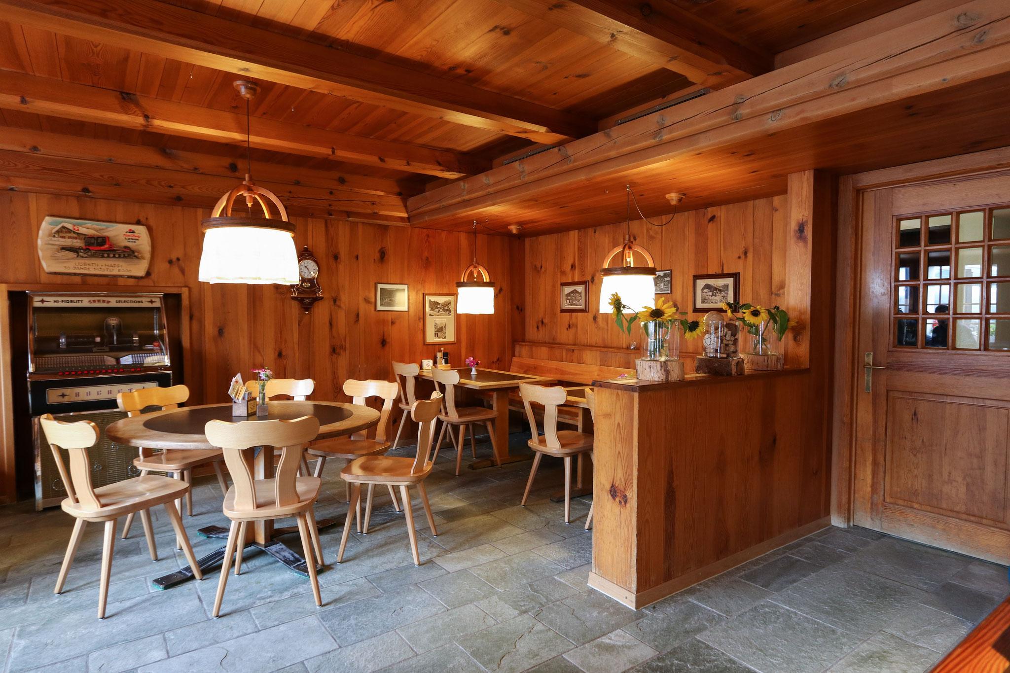 Notre restaurant en style Oberland Bernois