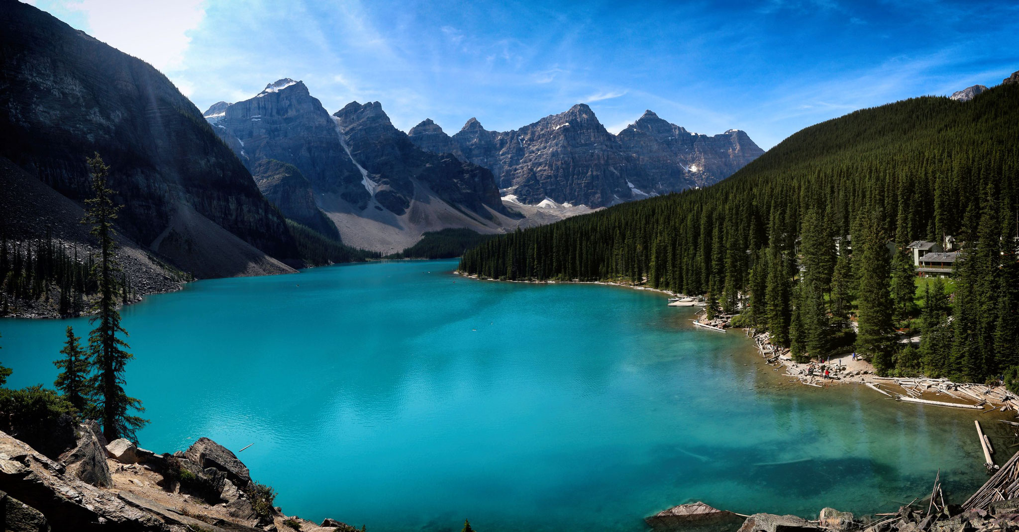 Moraine Lake - mittags