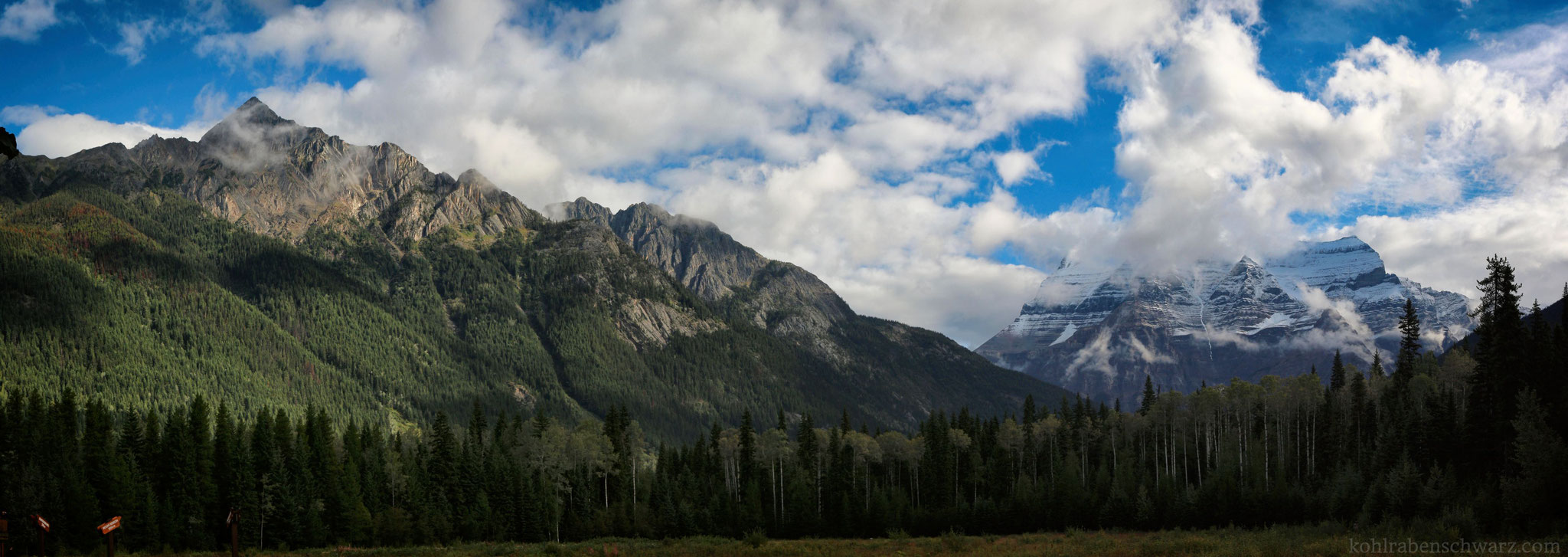 Mount Robson Panorama