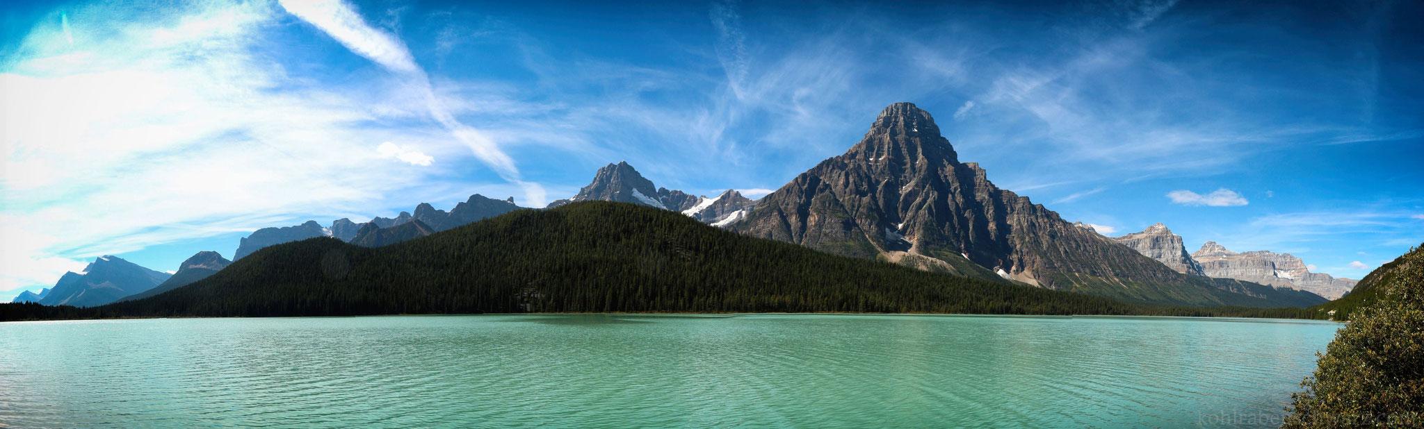 Die Landschaft der Rocky Mountains