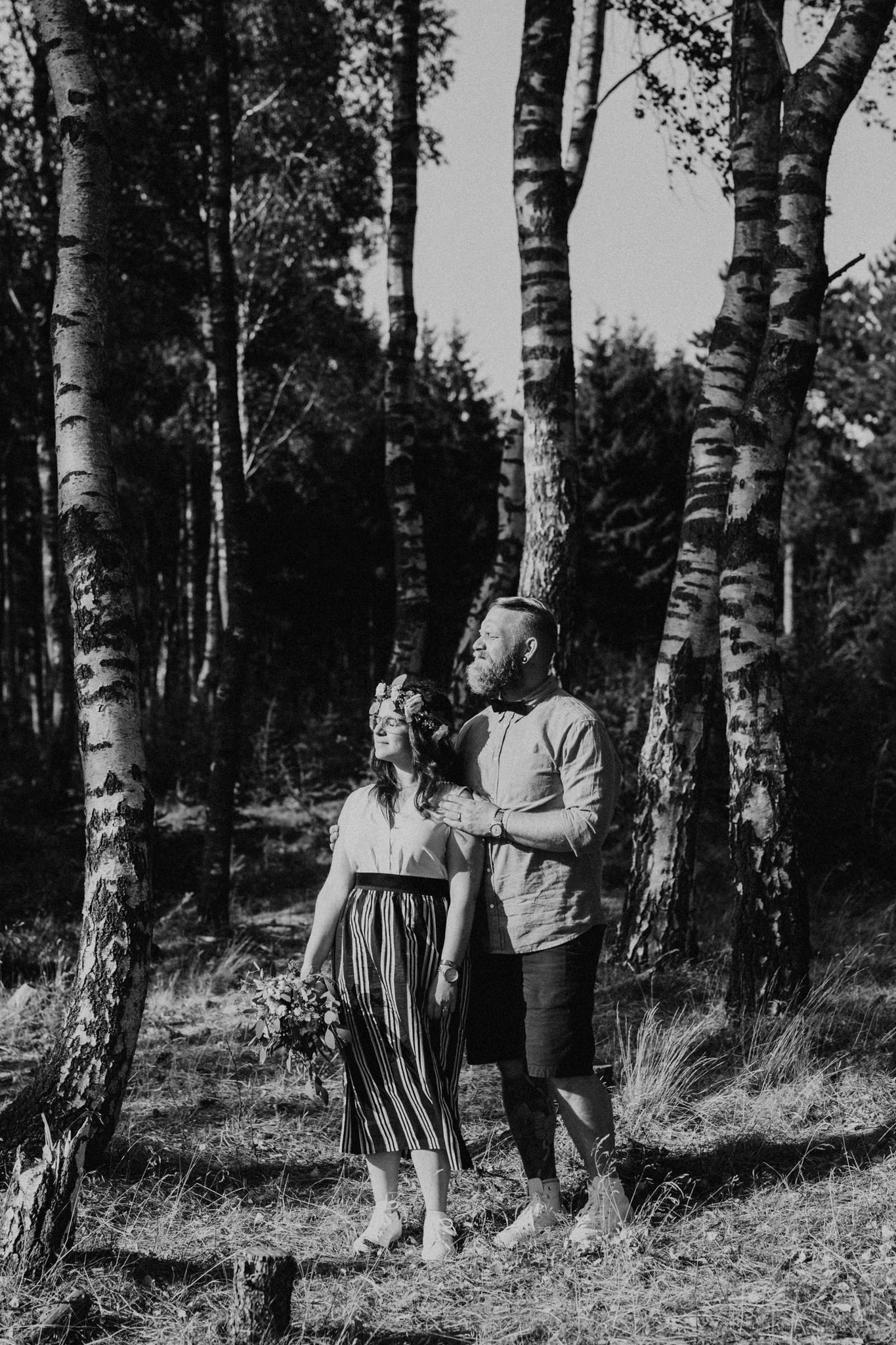 Hochzeitsbilder in den Cuxhavener Küstenheiden