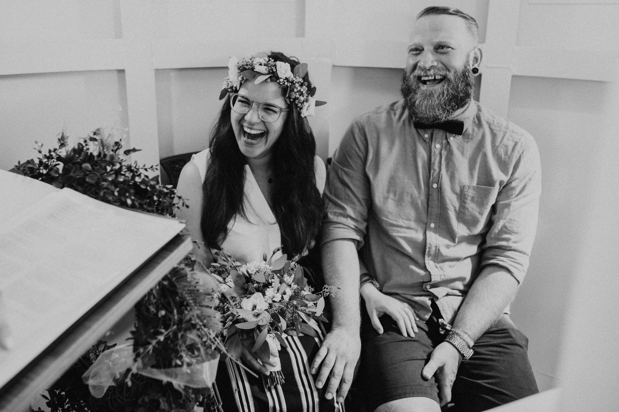 Hochzeit im Wremer Leuchtturm in Cuxhaven von Alina Atzler