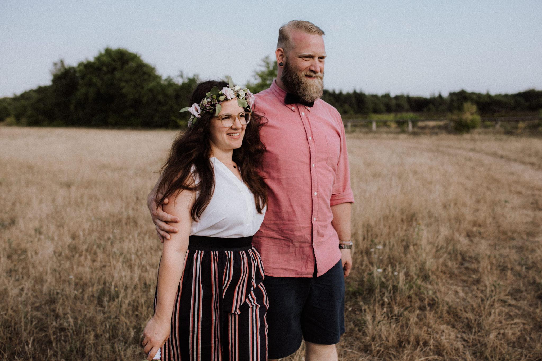 Hochzeitsbilder in der Küstenheide von Cuxhaven von Alina Atzler