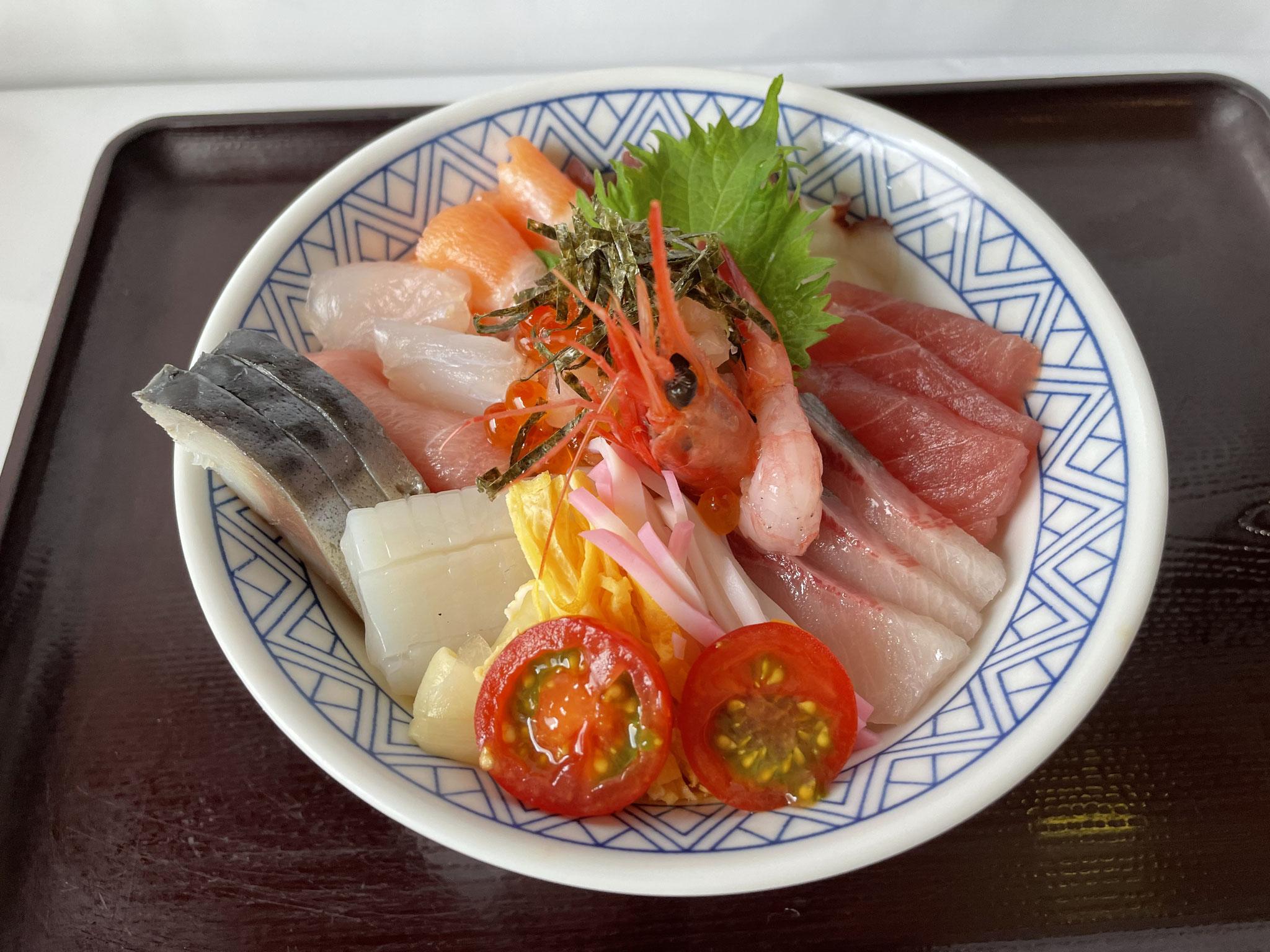 人気!海鮮丼