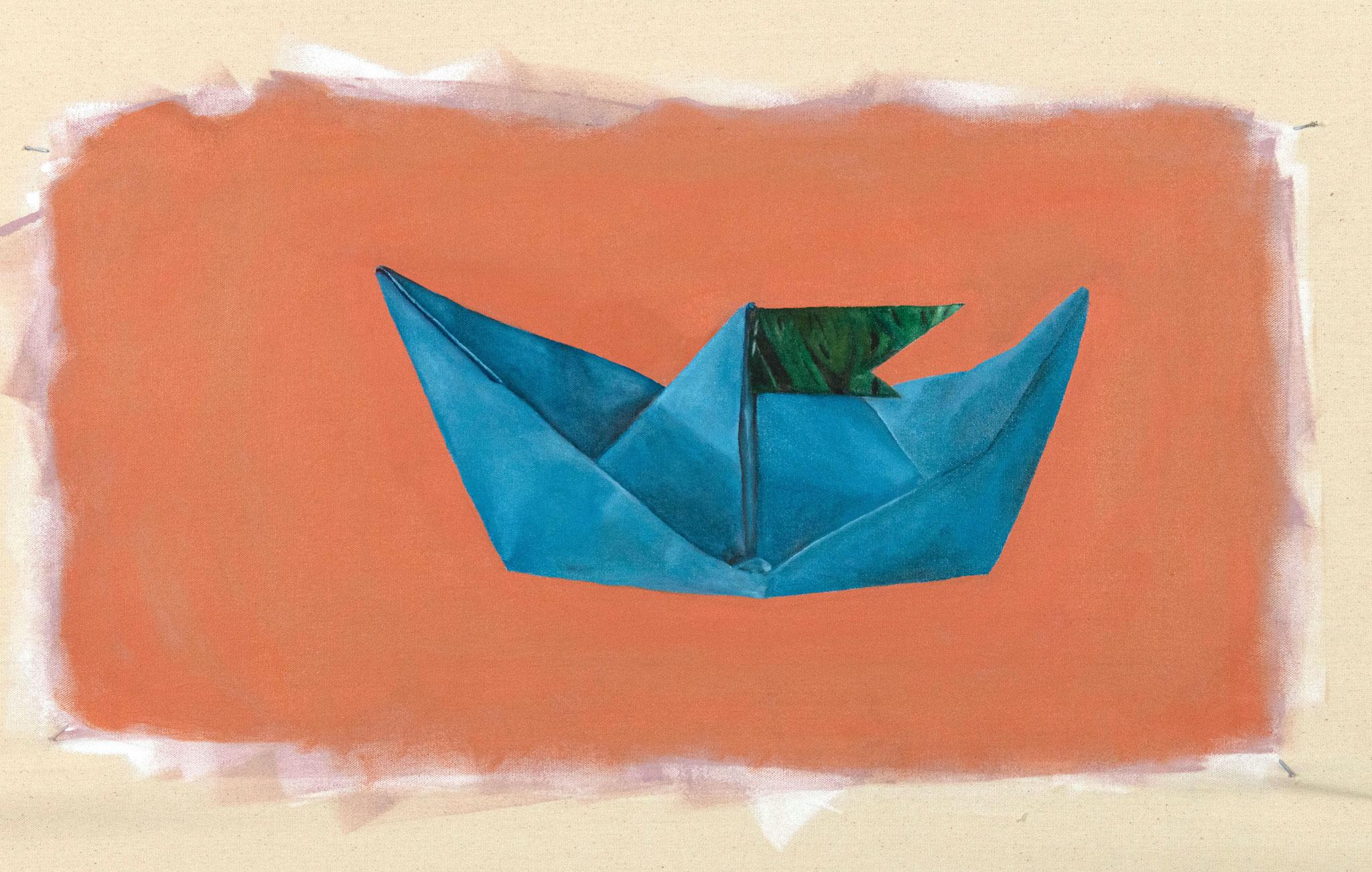 Sorami - origami boat.