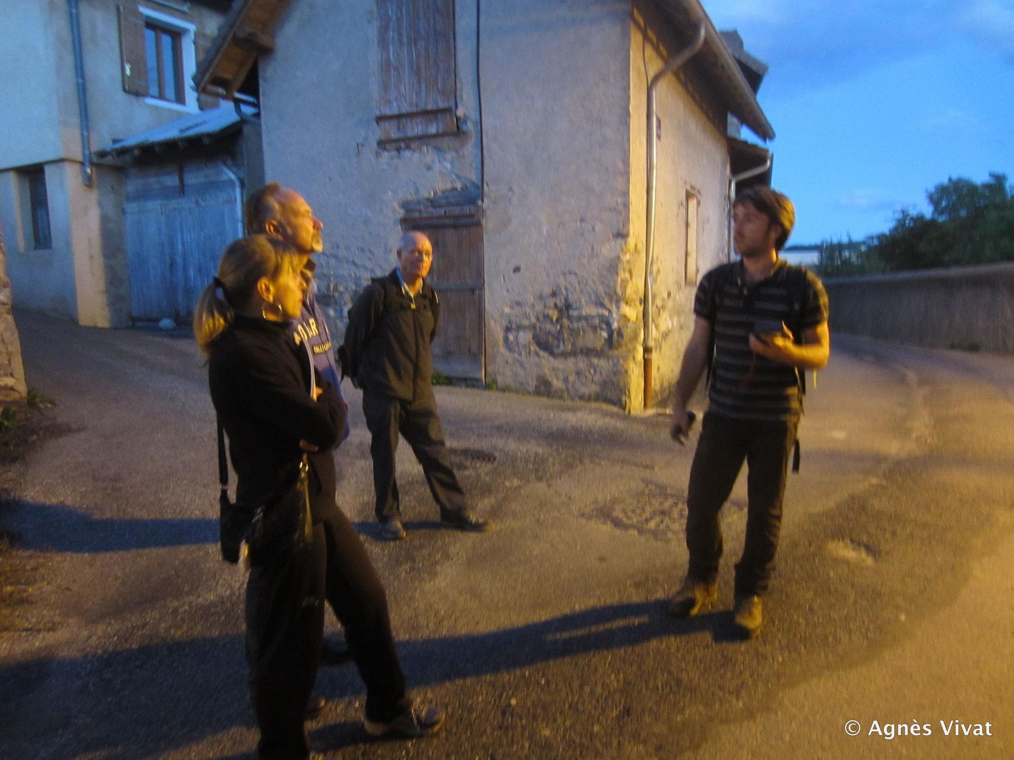 Sortie de propsection dans le village de Chorges
