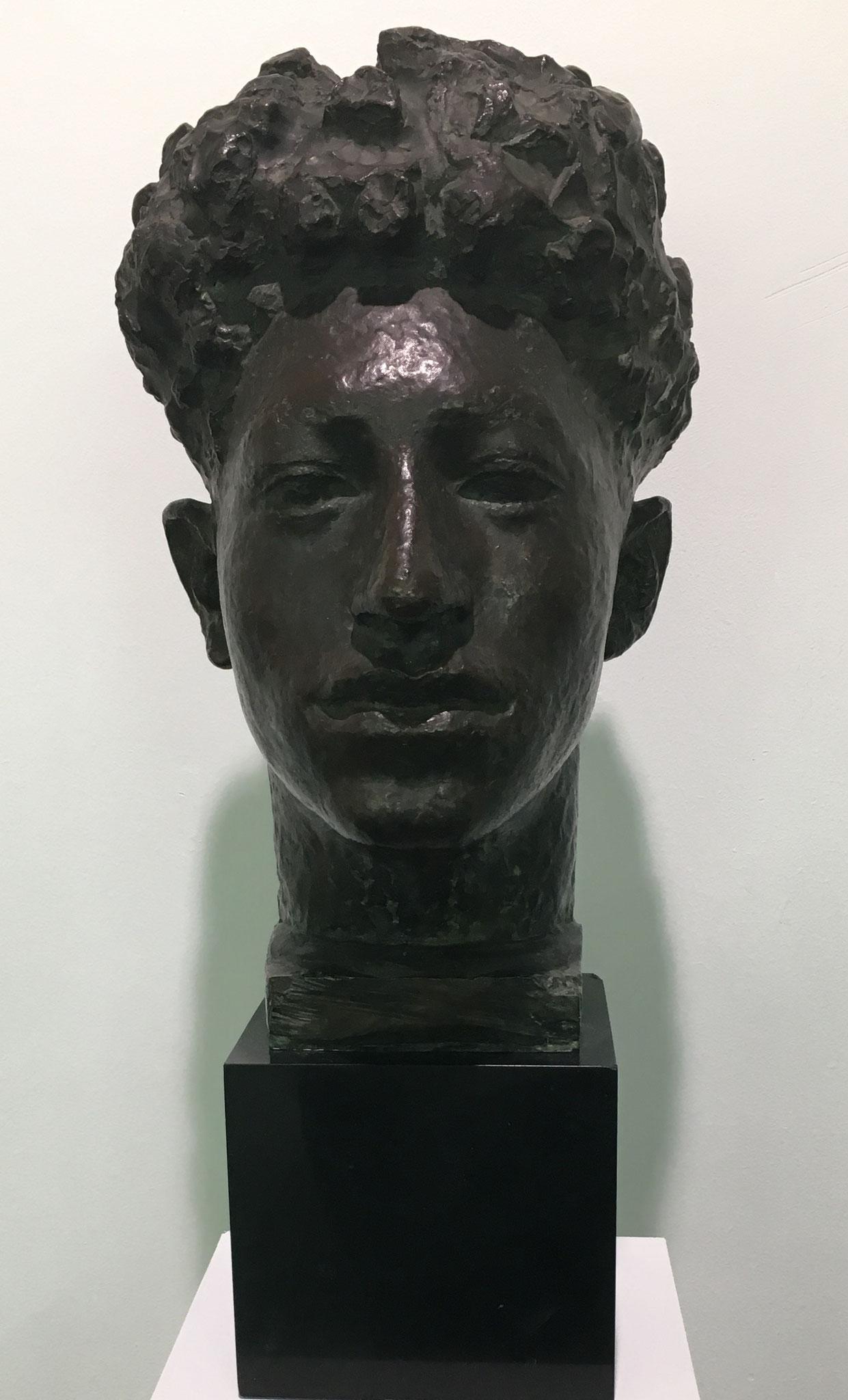Cuno Amiet, Büste Alberto Giacometti, undatiert