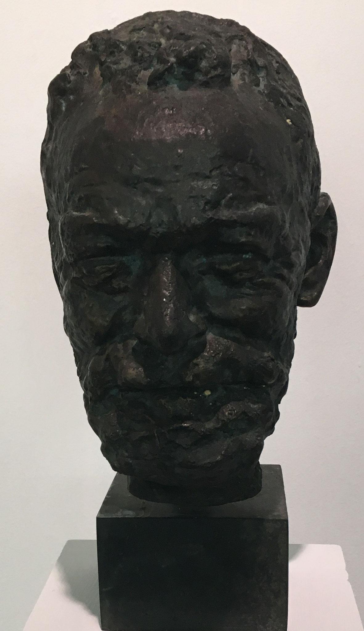 Cuno Amiet, Büste Ferdinand Hodler, undatiert