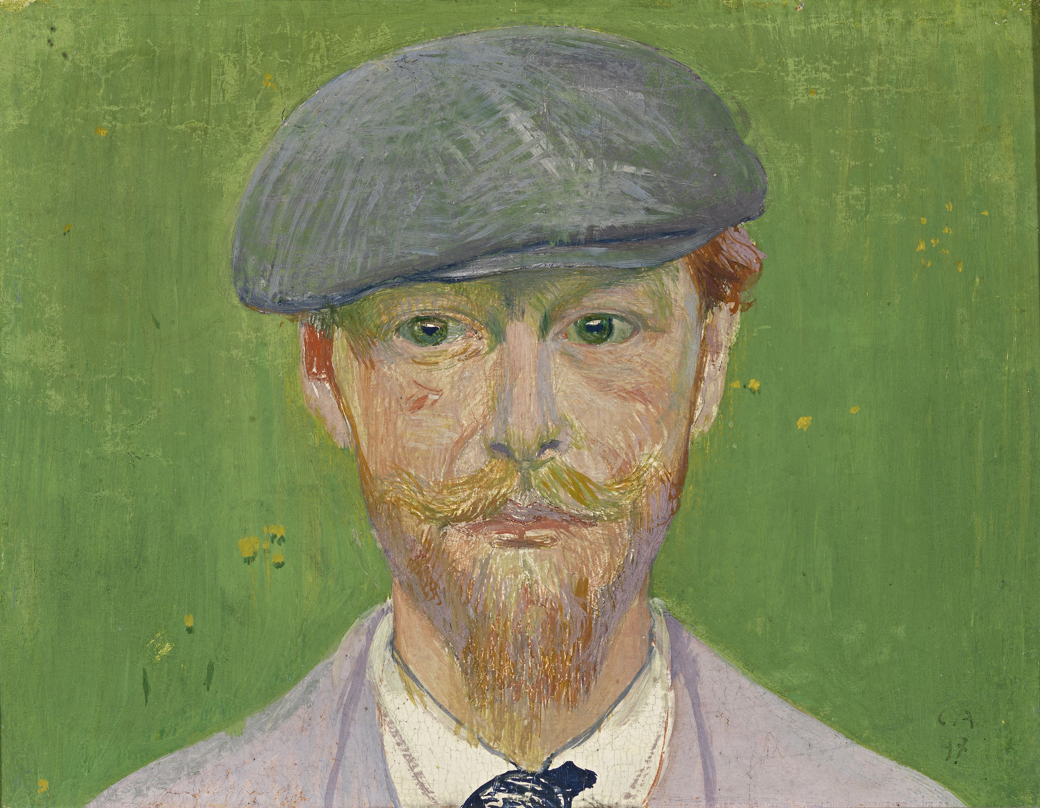 Cuno Amiet, Picture of Giovanni Giacometti, 1897, Kunstmuseum Olten