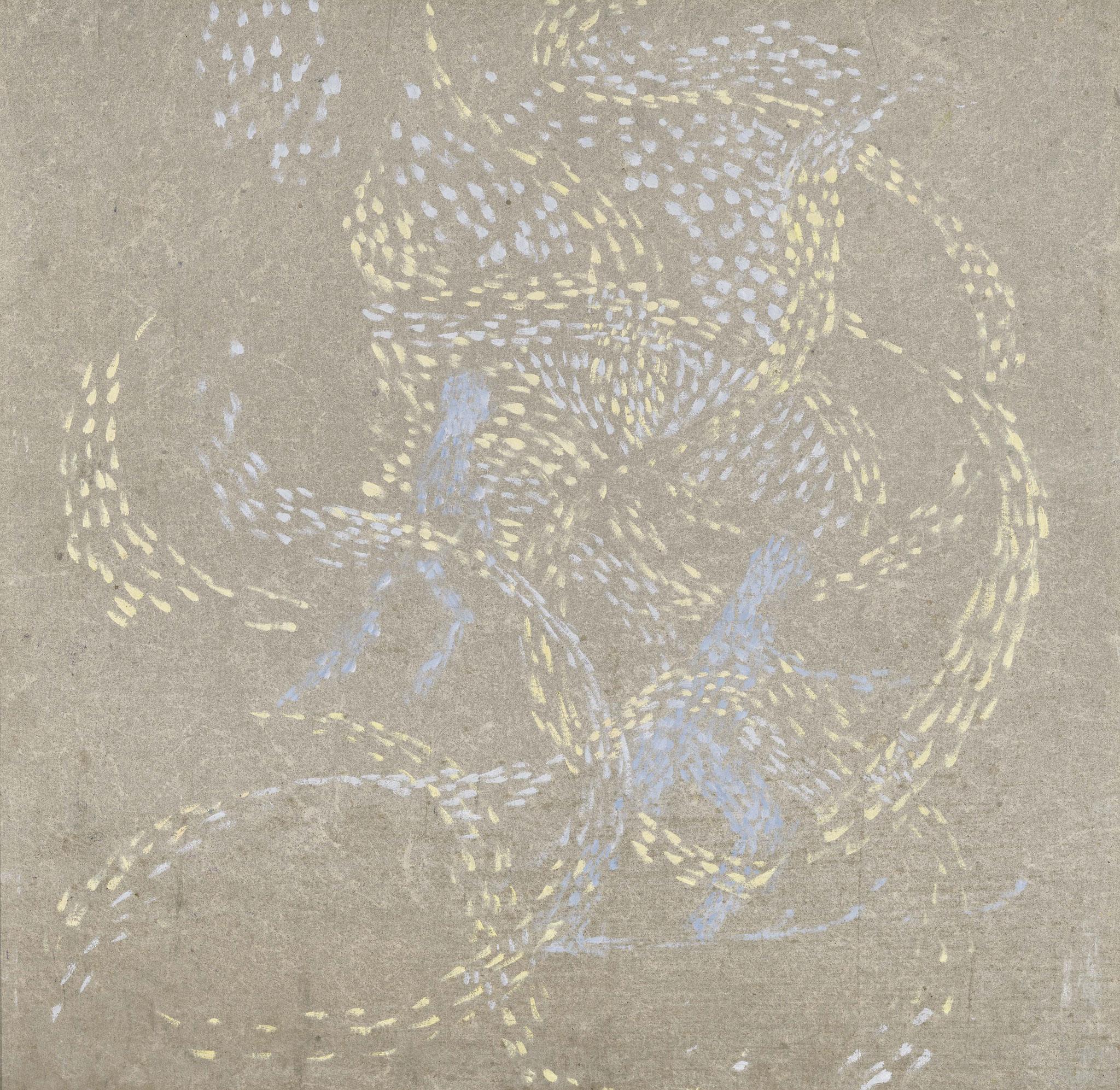 Cuno Amiet, Skispuren, 1904