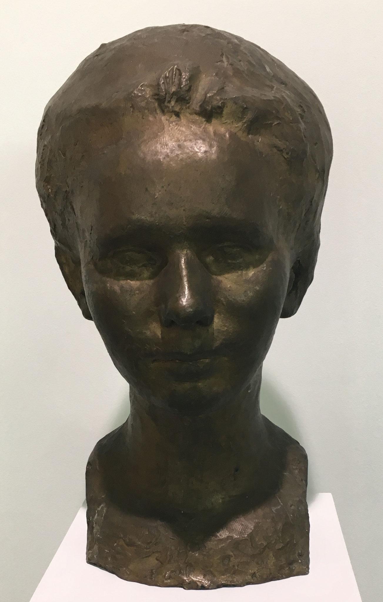 Cuno Amiet, Büste Lydia Thalmann-Amiet, 1923