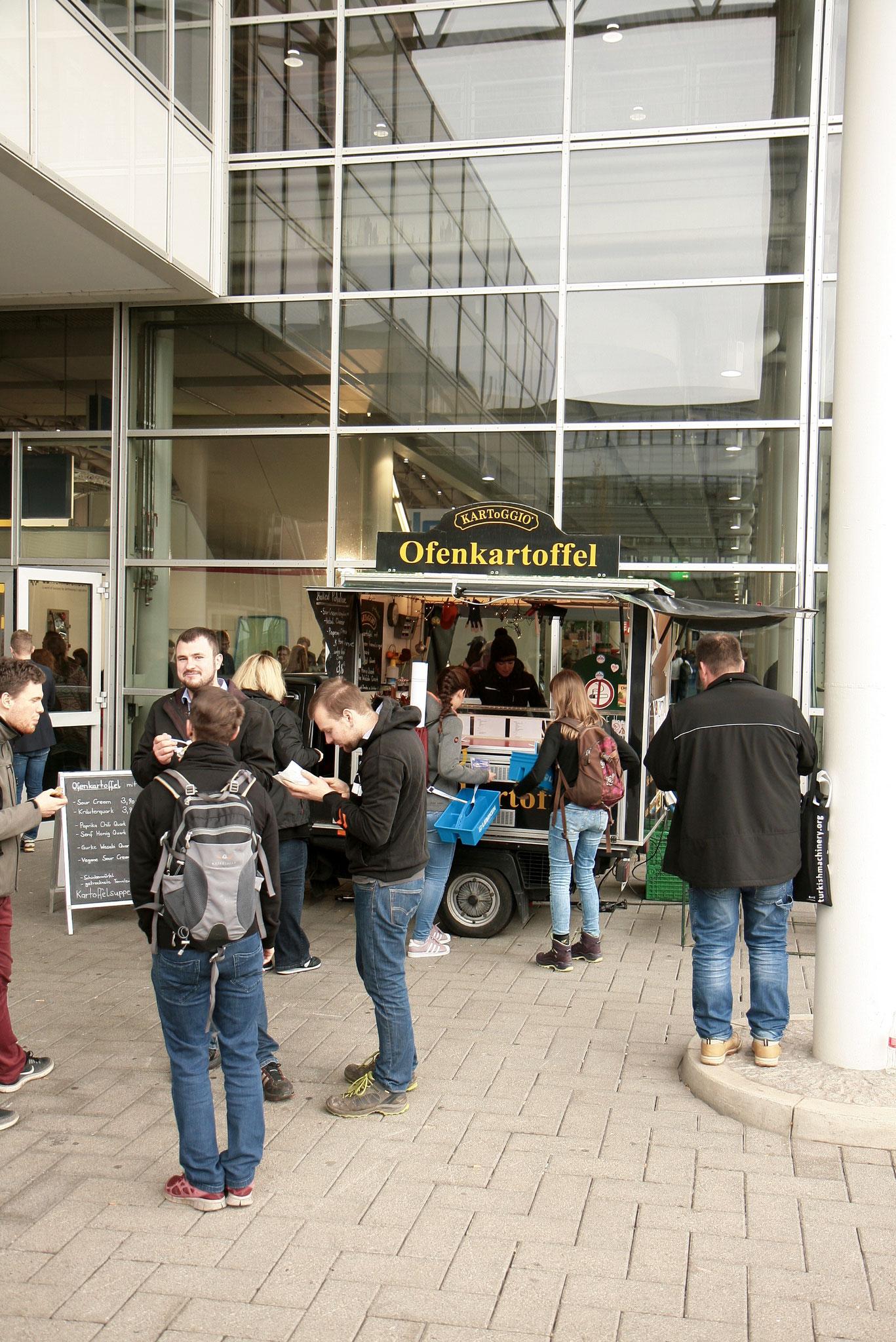 AgriTechnica 2017 - Landmaschinen bestaunen macht hungrig - Zeit für KARToGGIO®