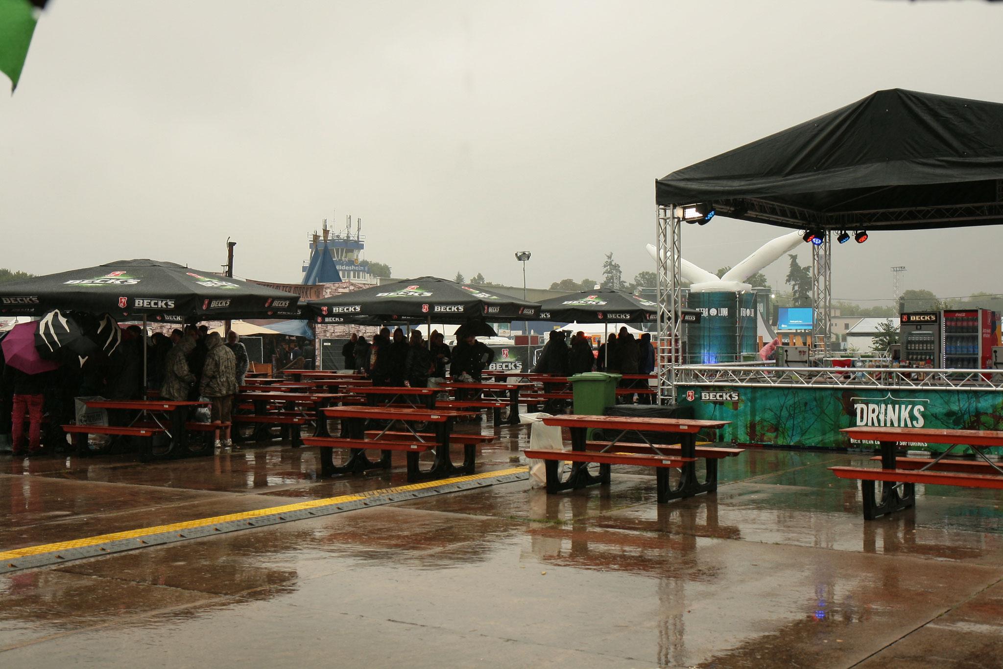 Wetter? egal, schließlich ist Festival!