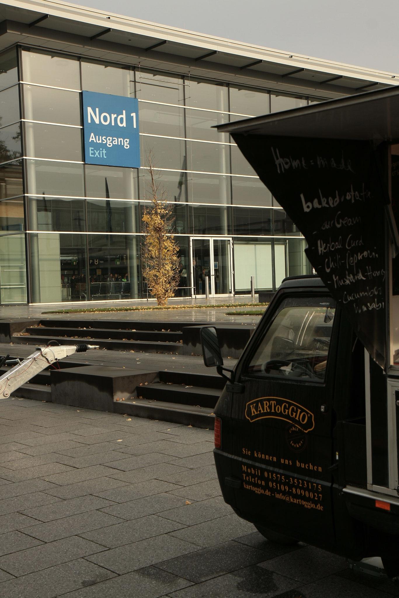 AgriTechnica 2017 - beste Aussicht auf eine heiße Ofenkartoffel von KARToGGIO®