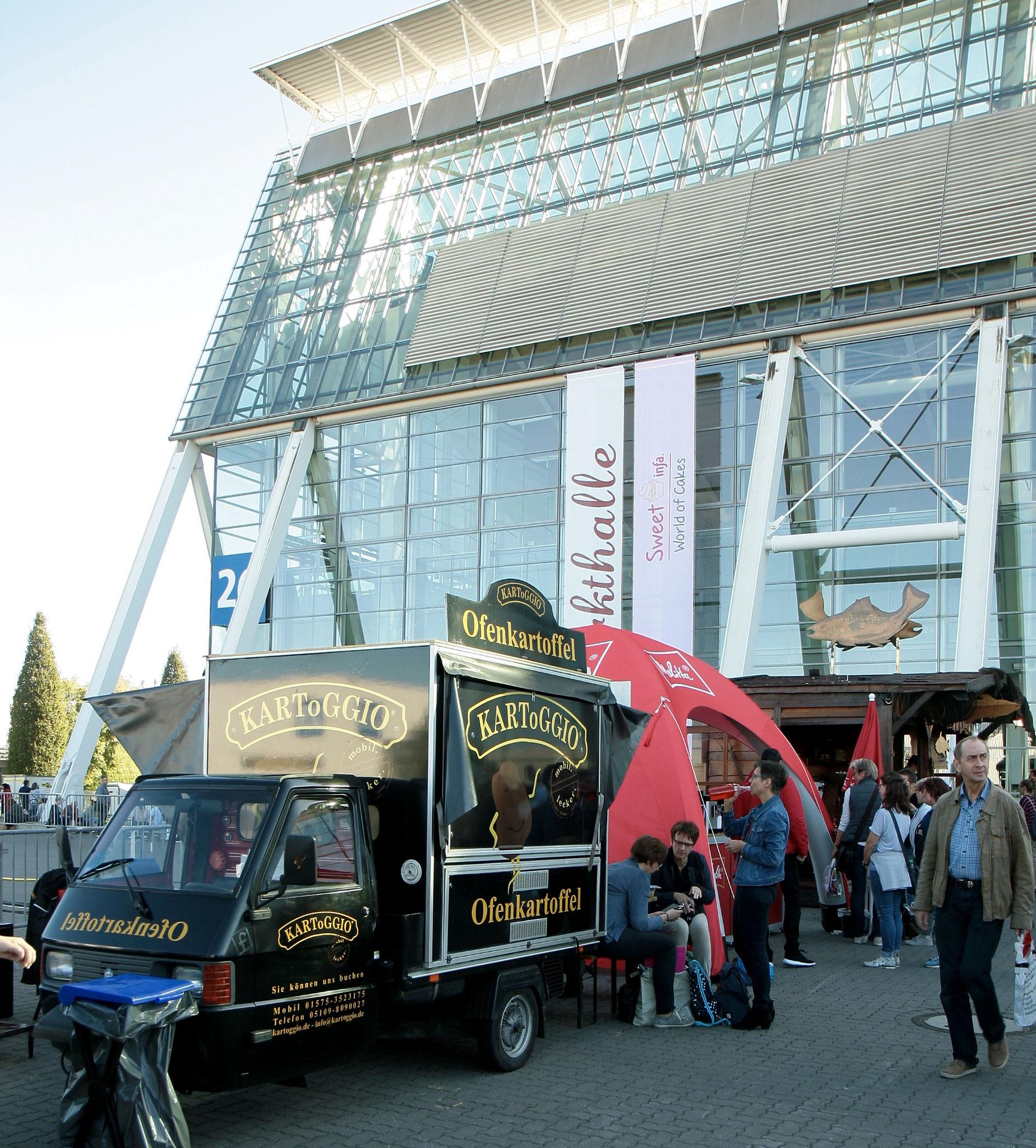 infa 2017 - Deutschlands größte Erlebnis und Einkaufsmesse mit KARToGGIO®