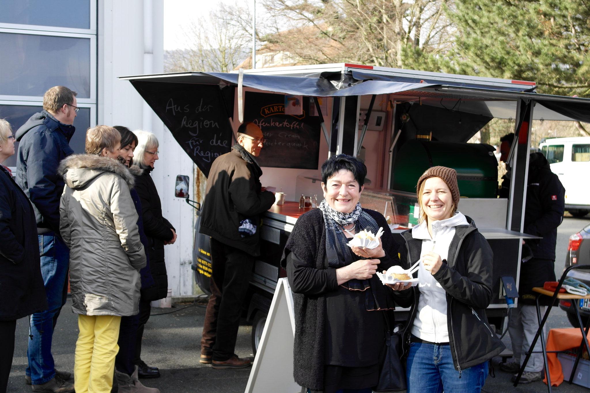 Amtseinführung mit Ofenkartoffeln von KARToGGIO® für die Mitarbeiter Rathaus Springe
