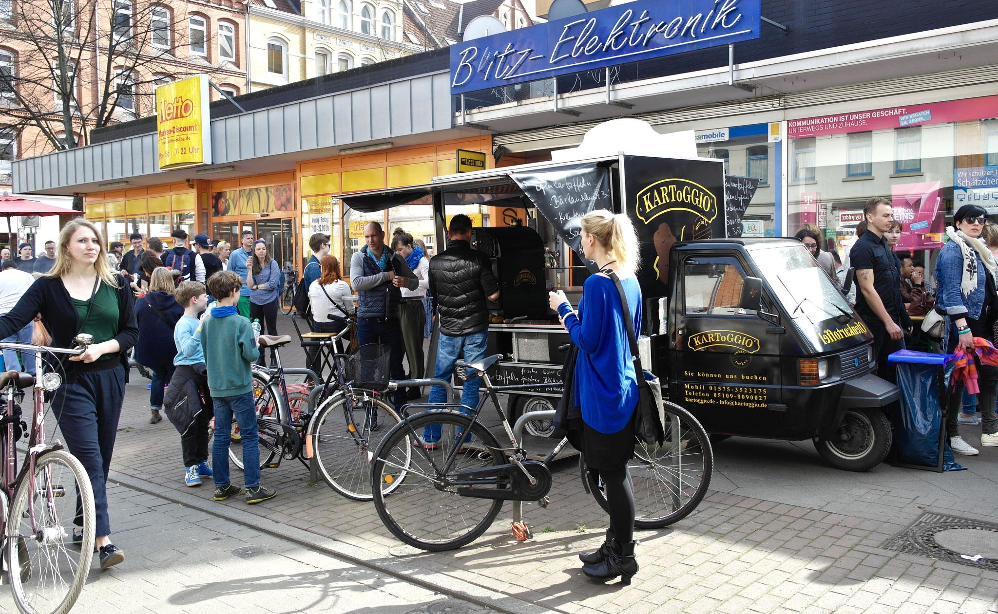 der neue Hype Limmer Straße: Ofenkartoffel von KARToGGIO