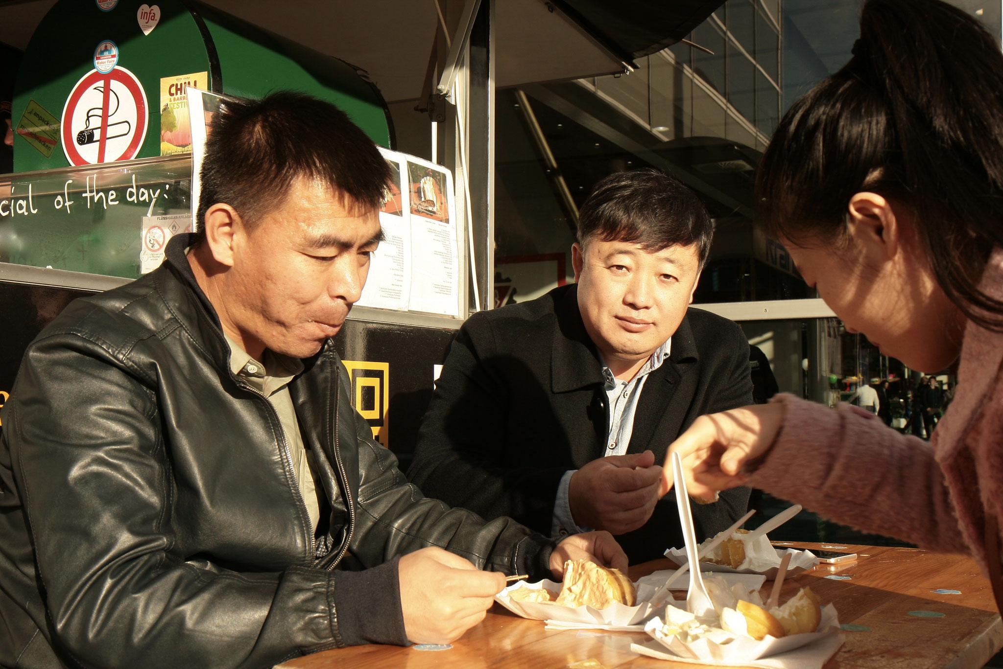 AgriTechnica 2017 - Ofenkartoffel von KARToGGIO® auf dem Weg nach Asien