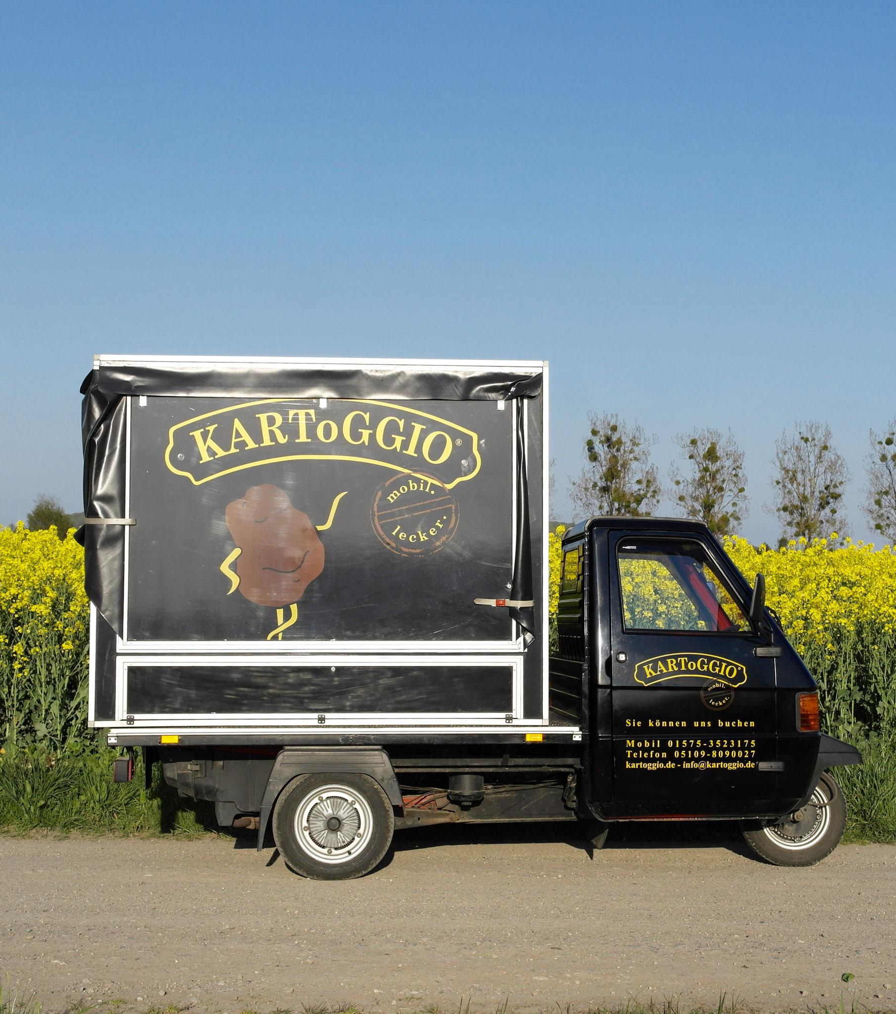 KARToGGIO® mobil.lecker. die perfekte Ofenkartoffel für jede Jahreszeit