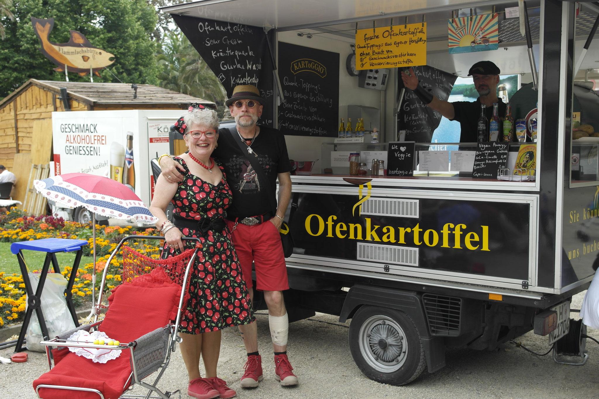 1. Wirtschaftswunder Bad Pyrmont- mit piaggioapeofenkartoffel