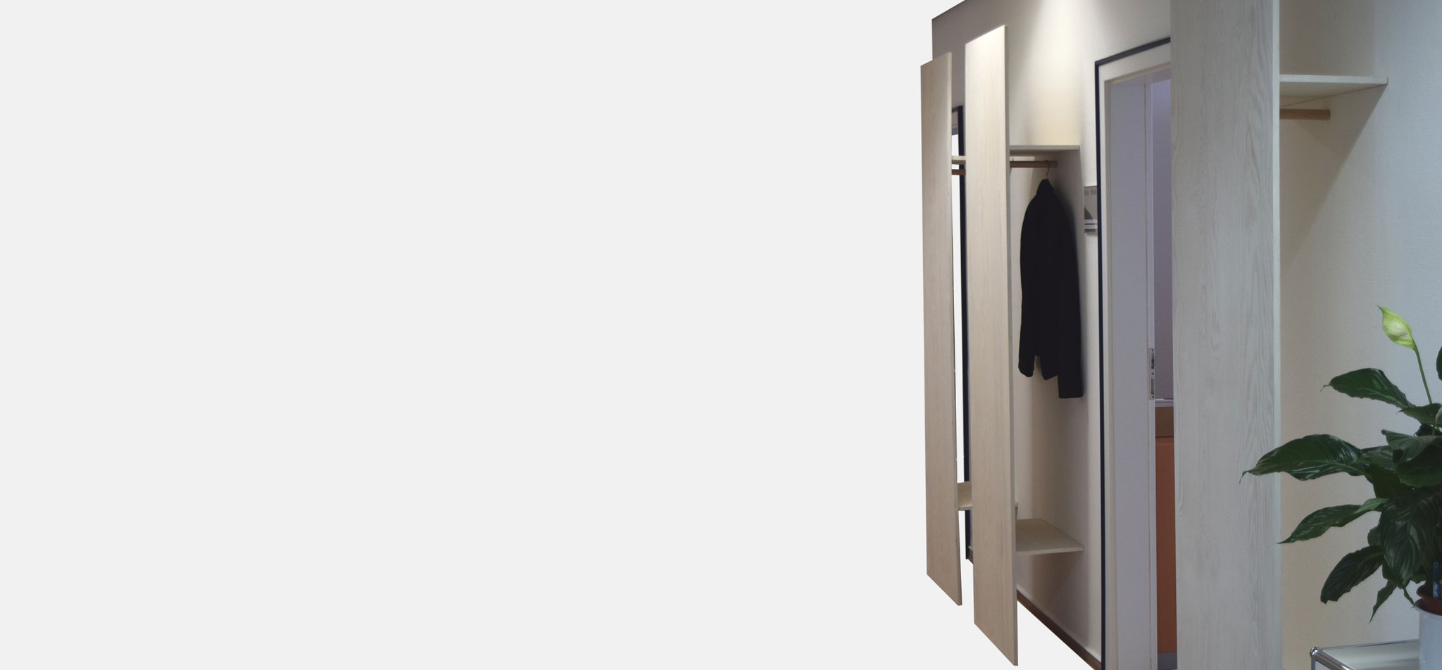 INW | garderobe – infragrau, gute gestaltung