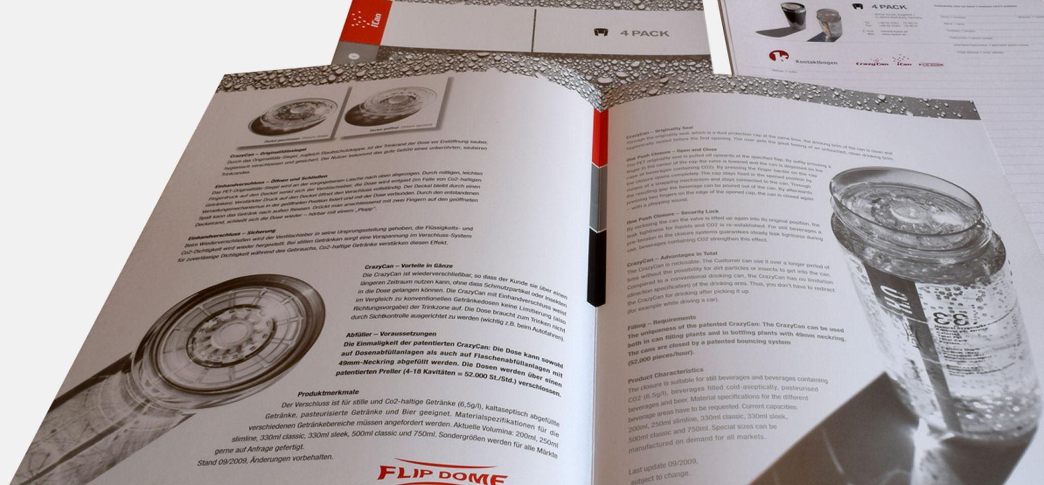 4PACK | logo und corporate design – infragrau, gute gestaltung