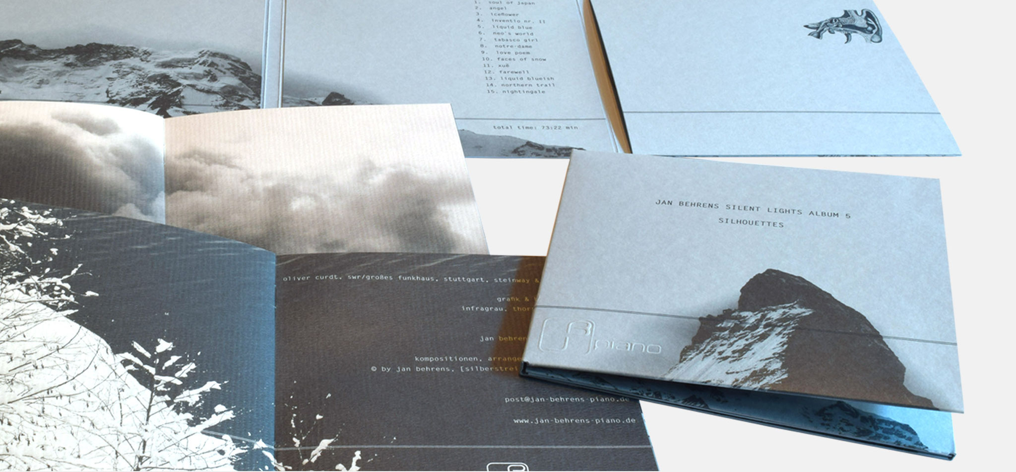 JAN BEHRENS | audiophile serie silent lights – infragrau, gute gestaltung