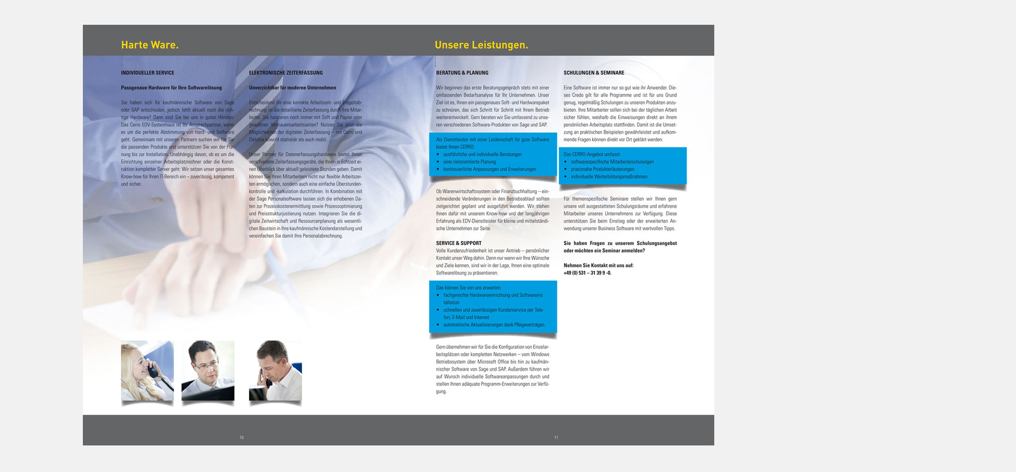 CERRO | broschüre WAAS – infragrau, gute gestaltung