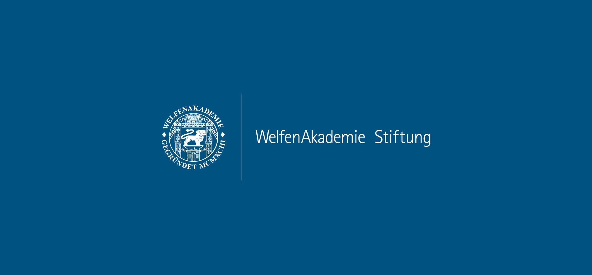WELFENAKADEMIE STIFTUNG | logo – infragrau, gute gestaltung