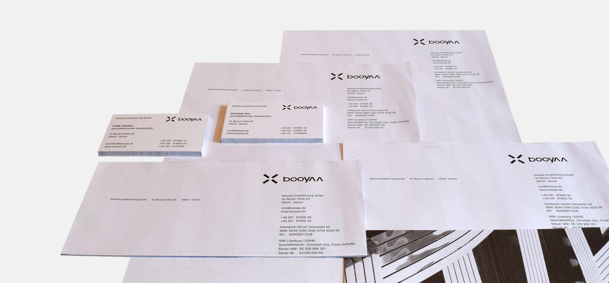 BOOYAA | logo-relaunch und corporate design – infragrau, gute Gestaltung