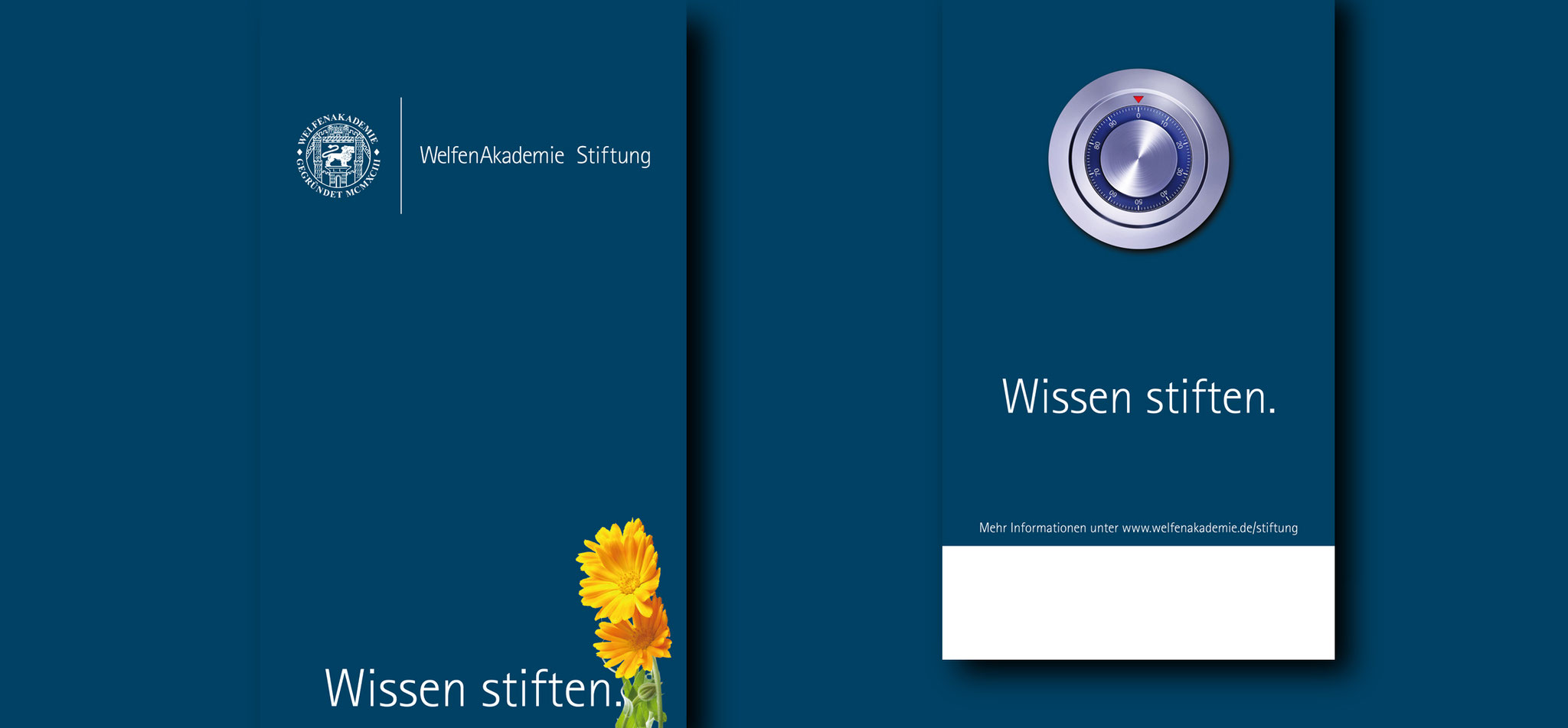 WELFENAKADEMIE STIFTUNG | corporate design – infragrau, gute gestaltung