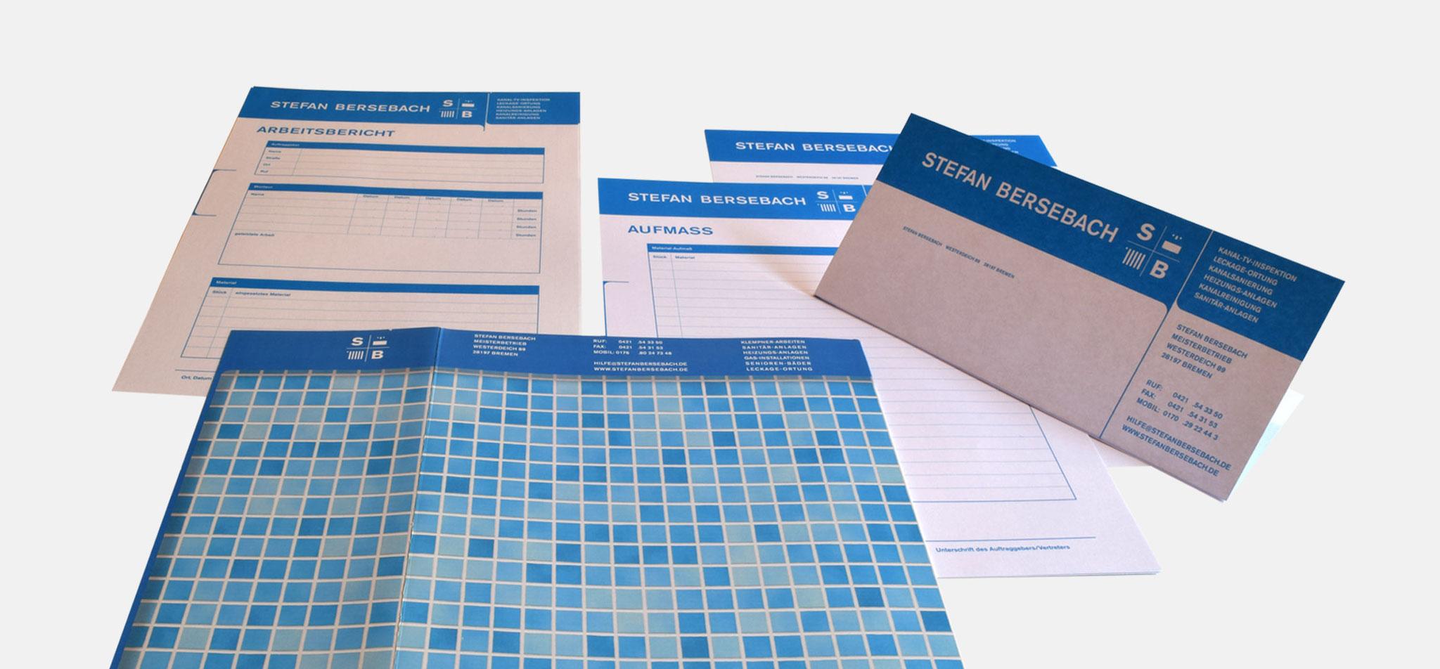 BERSEBACH | logo-relaunch, geschäftsausstattung und flyer – infragrau, gute Gestaltung