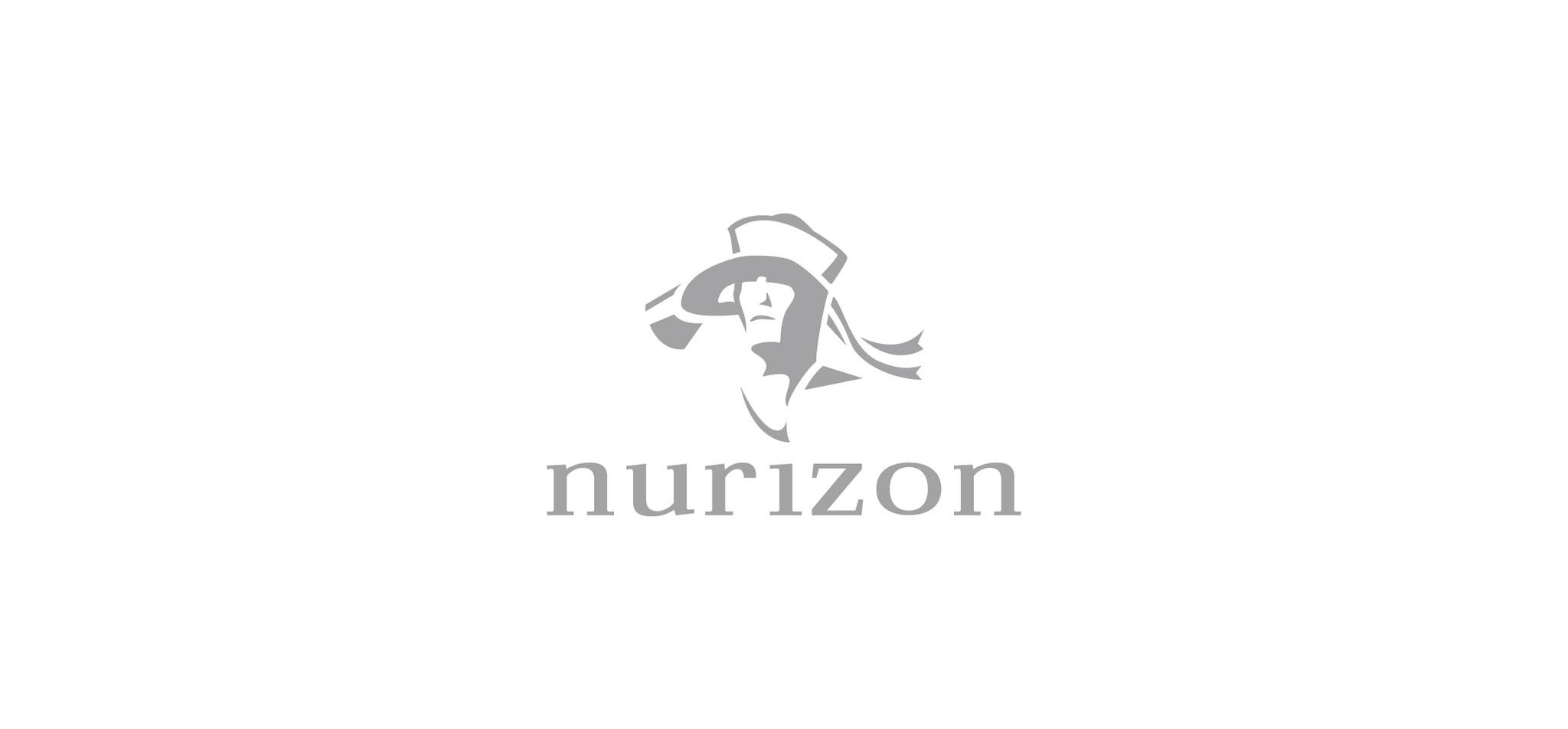 NURIZON | markenlogo – infragrau, gute gestaltung