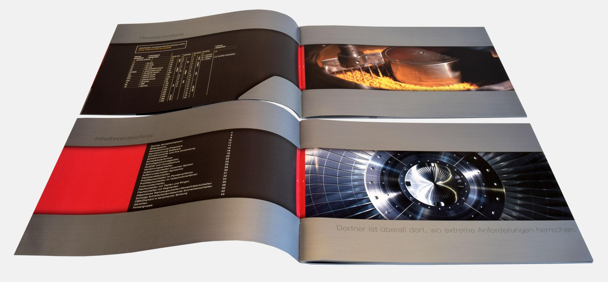 DORFNER | corporate design – infragrau, gute gestaltung