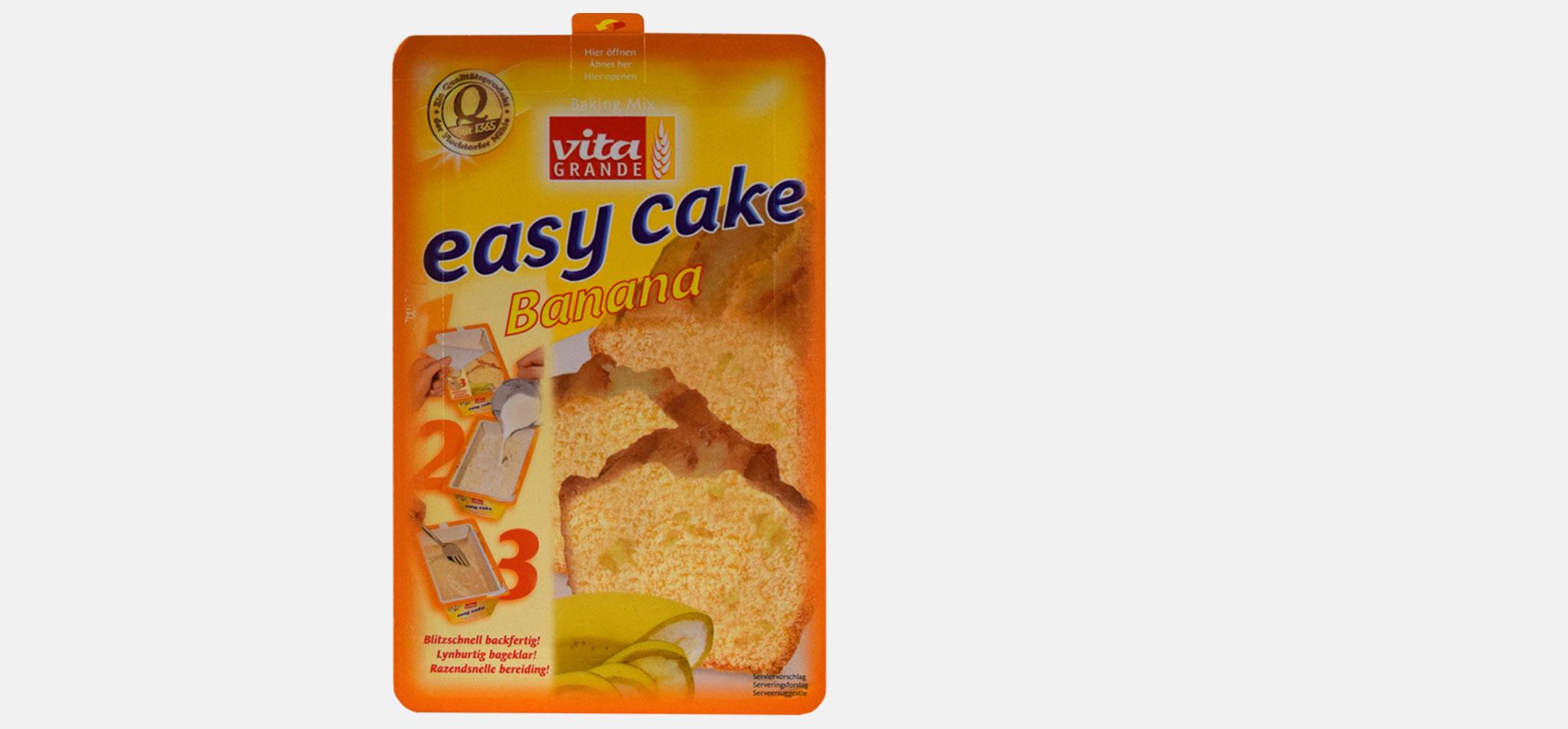 FLECHTORFER MÜHLE | verpackung vita grande easy cake – infragrau, gute gestaltung